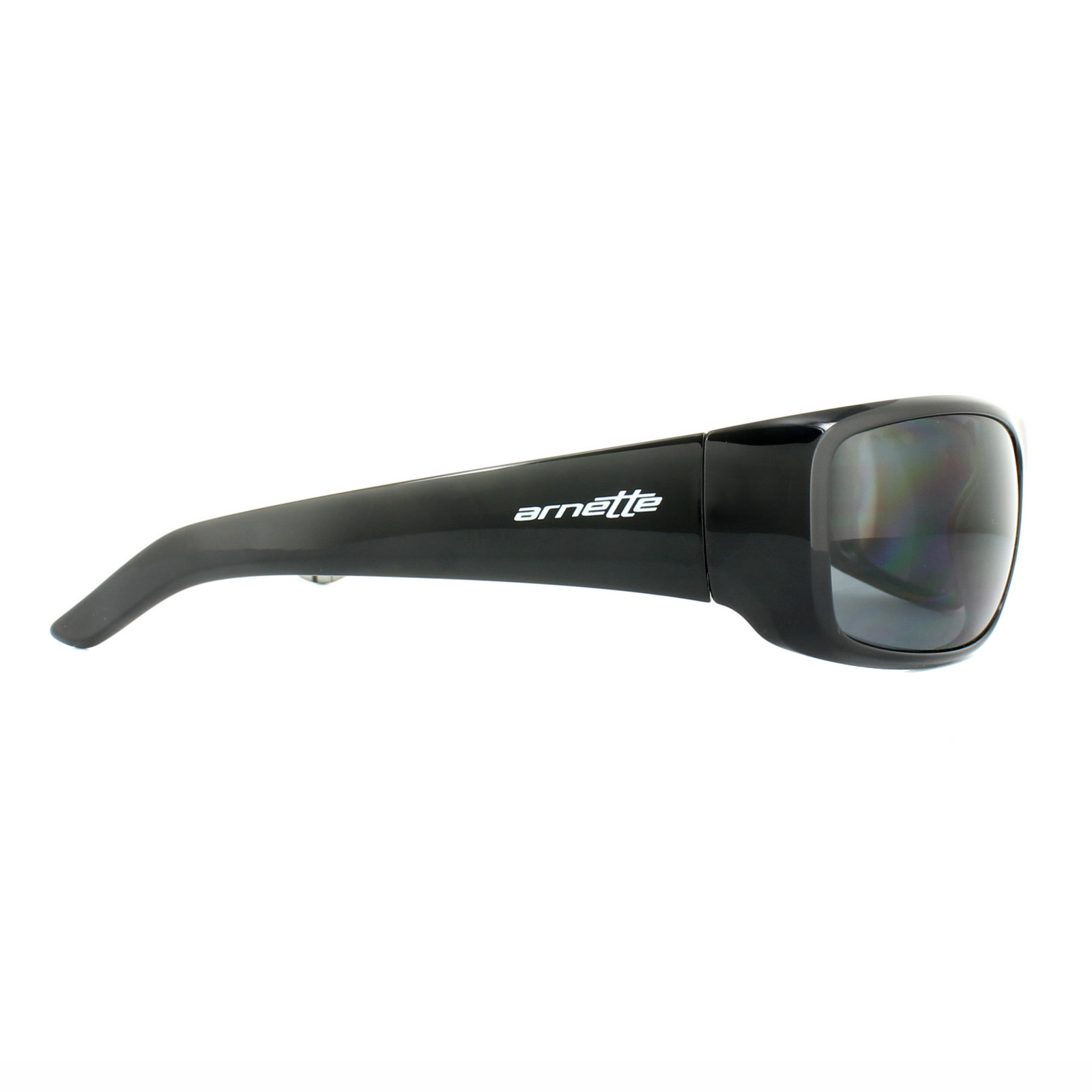 a48d347ebb Sentinel Arnette Sunglasses Hot Shot 4182 214981 Polished Black Graphics  Grey Polarized