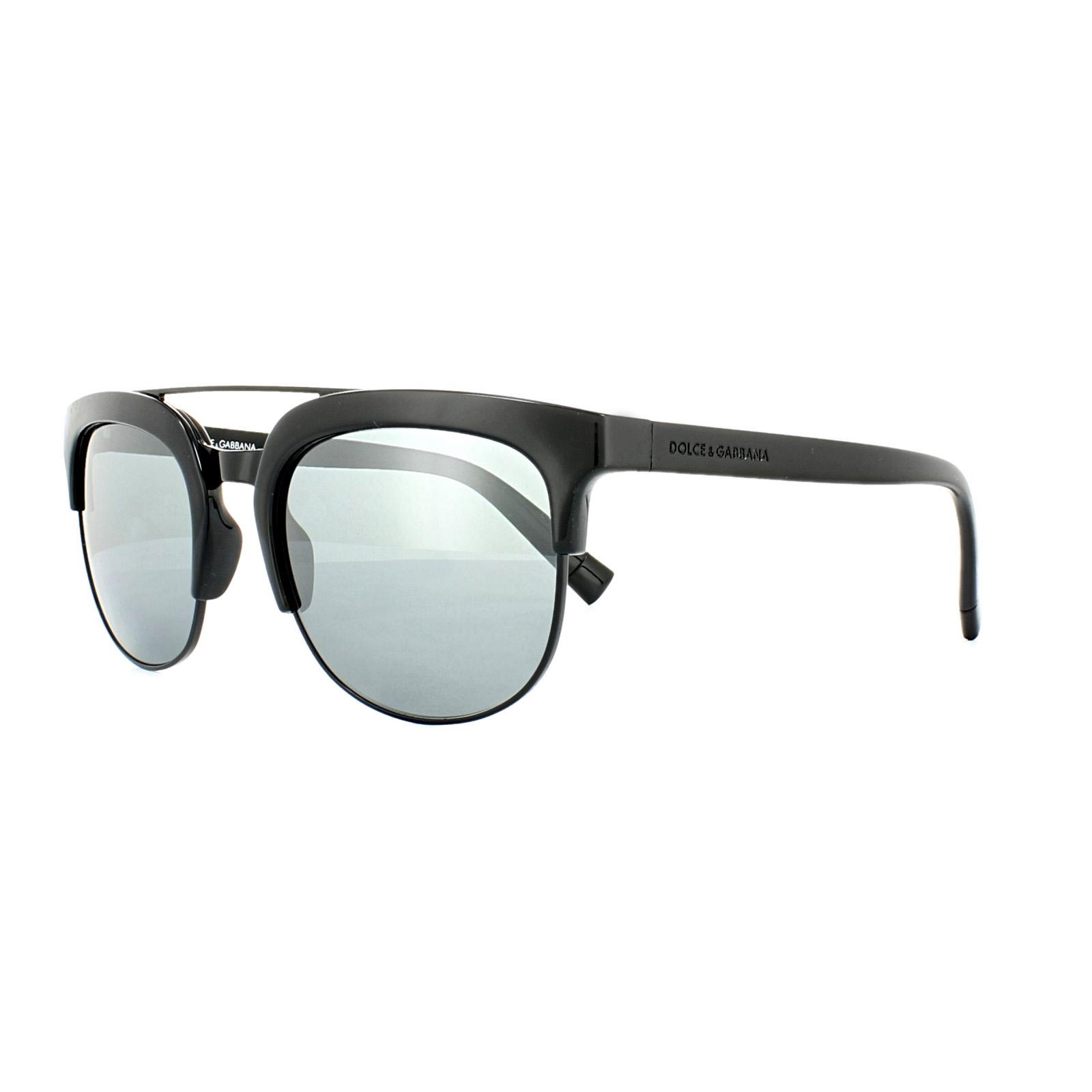 Sentinel Dolce   Gabbana Sunglasses 6103 501 6G Black Grey Mirror 204cb8ff431e