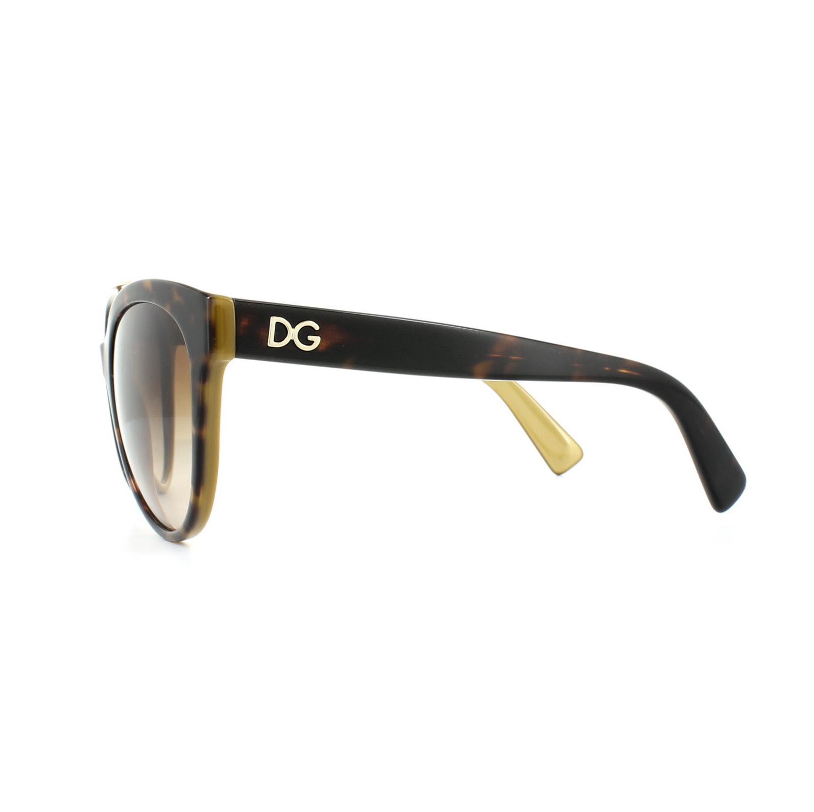 03126ee808 Sentinel Dolce   Gabbana Sunglasses 4280 2956 13 Top Havana on Gold Brown  Gradient