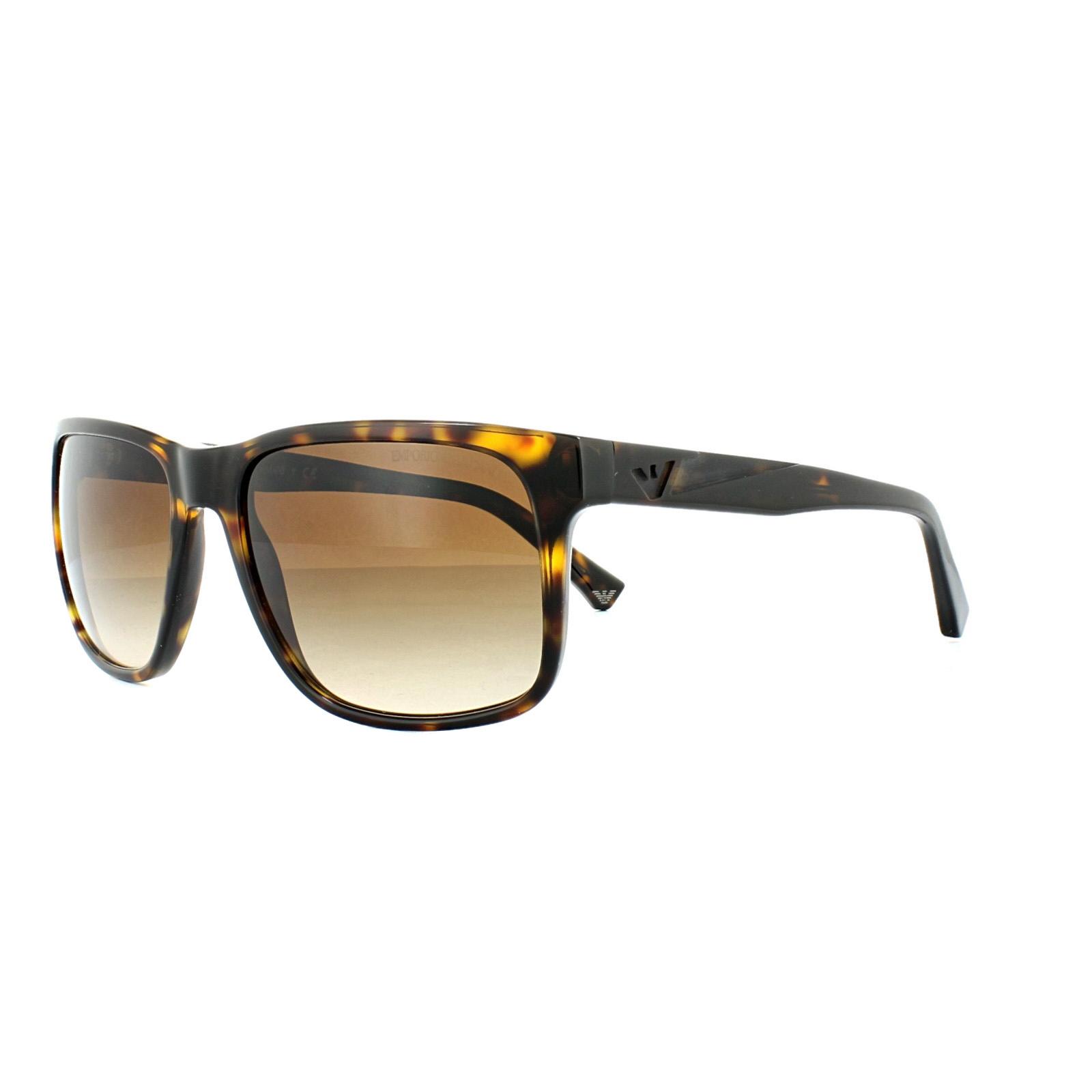 157d8501f534 Sentinel Emporio Armani Sunglasses 4071 5026 13 Dark Havana Brown Gradient