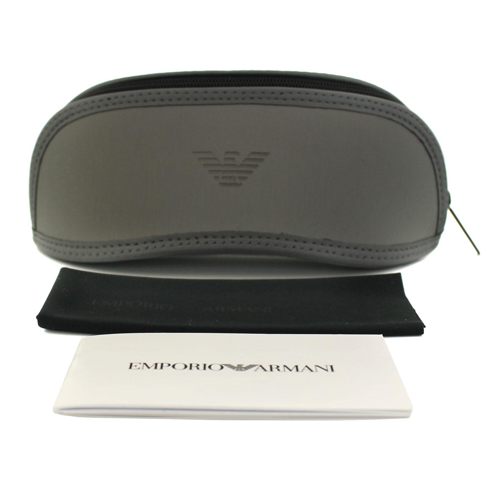 86c92ea2d2 Sentinel Emporio Armani Sunglasses 4077 5063 81 Black Rubber Grey Polarized