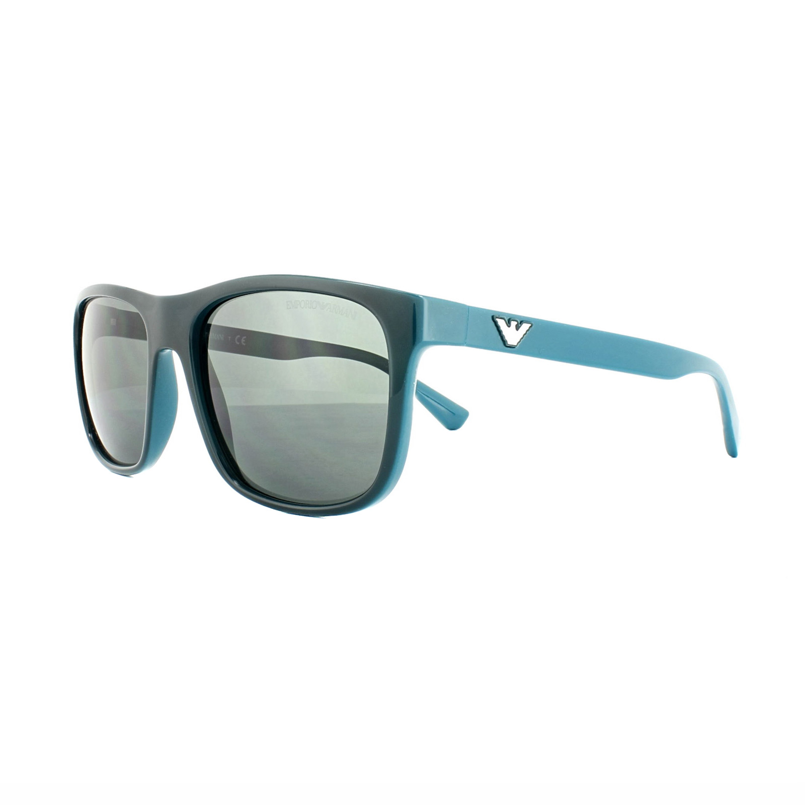c82c723f9fbb Sentinel Emporio Armani Sunglasses 4085 5554 87 Top Green on Petroleum Grey