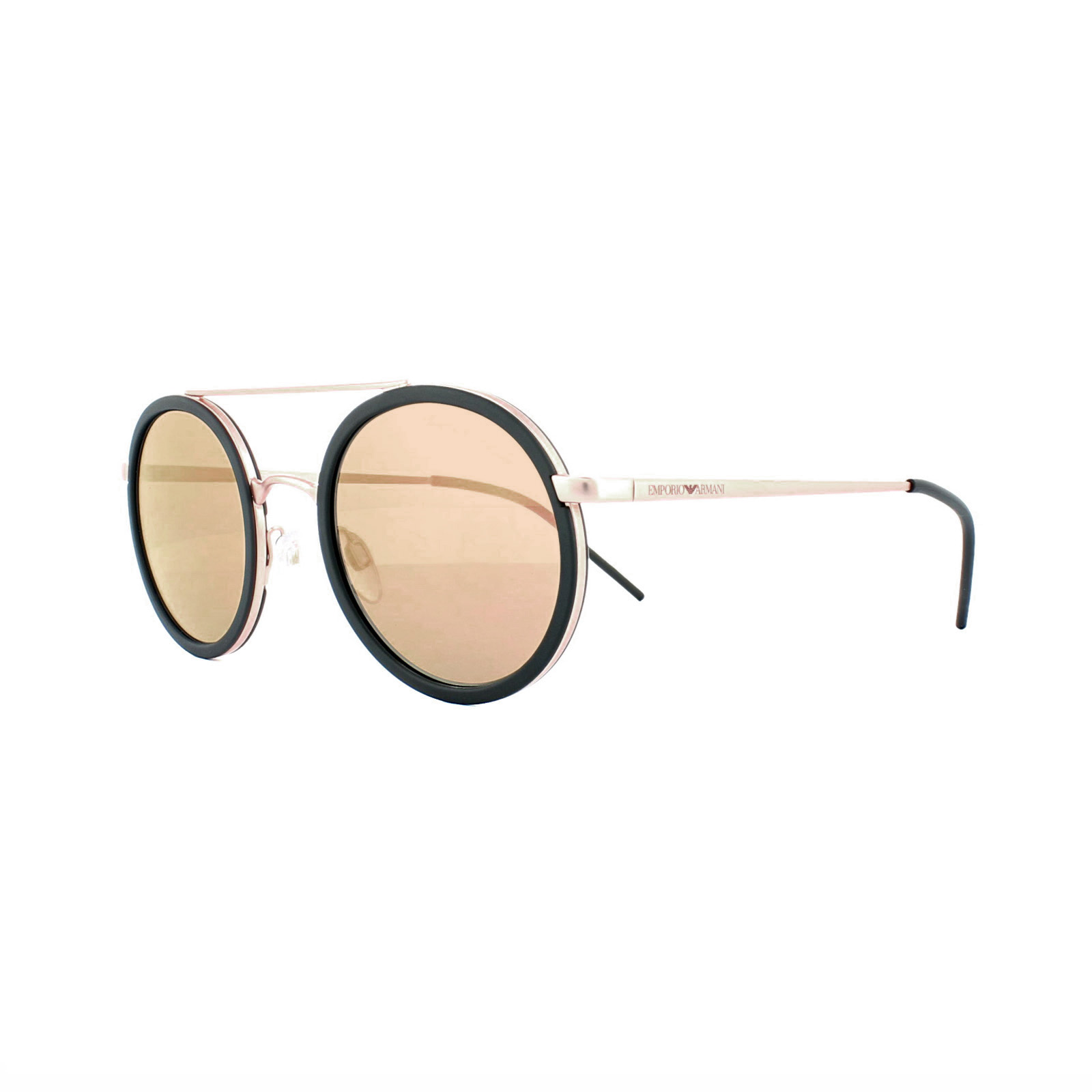 2c008a47cf3 Emporio Armani Sunglasses 2041 3004 4Z Matt Pink Gold Grey Mirror ...