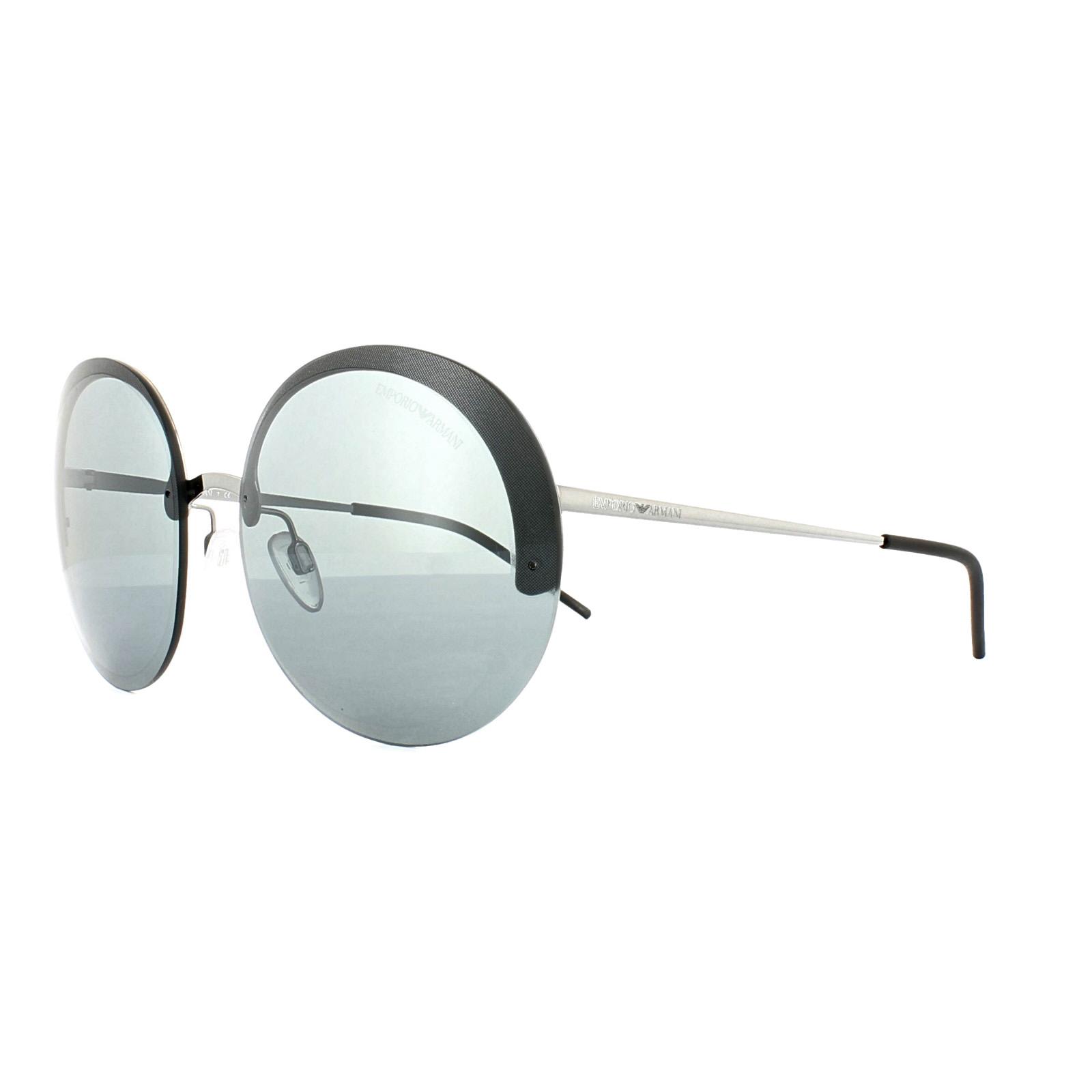 039b62e0a4 CENTINELA Emporio Armani gafas de sol 3010/6G 2044 Gunmetal gris espejo gris  negro