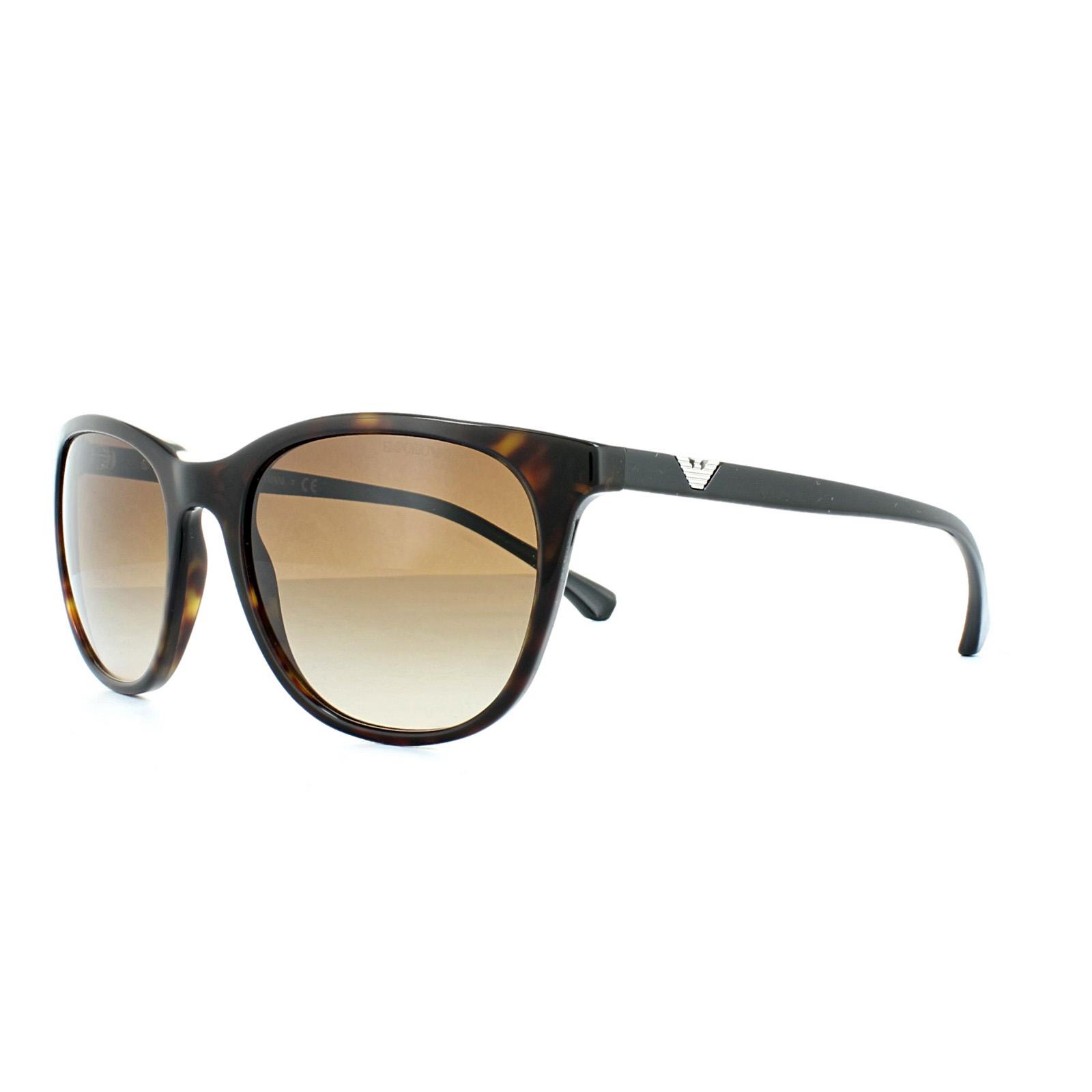 7be0ef0b0f2 Sentinel Emporio Armani Sunglasses 4086 5026 13 Dark Havana Brown Gradient