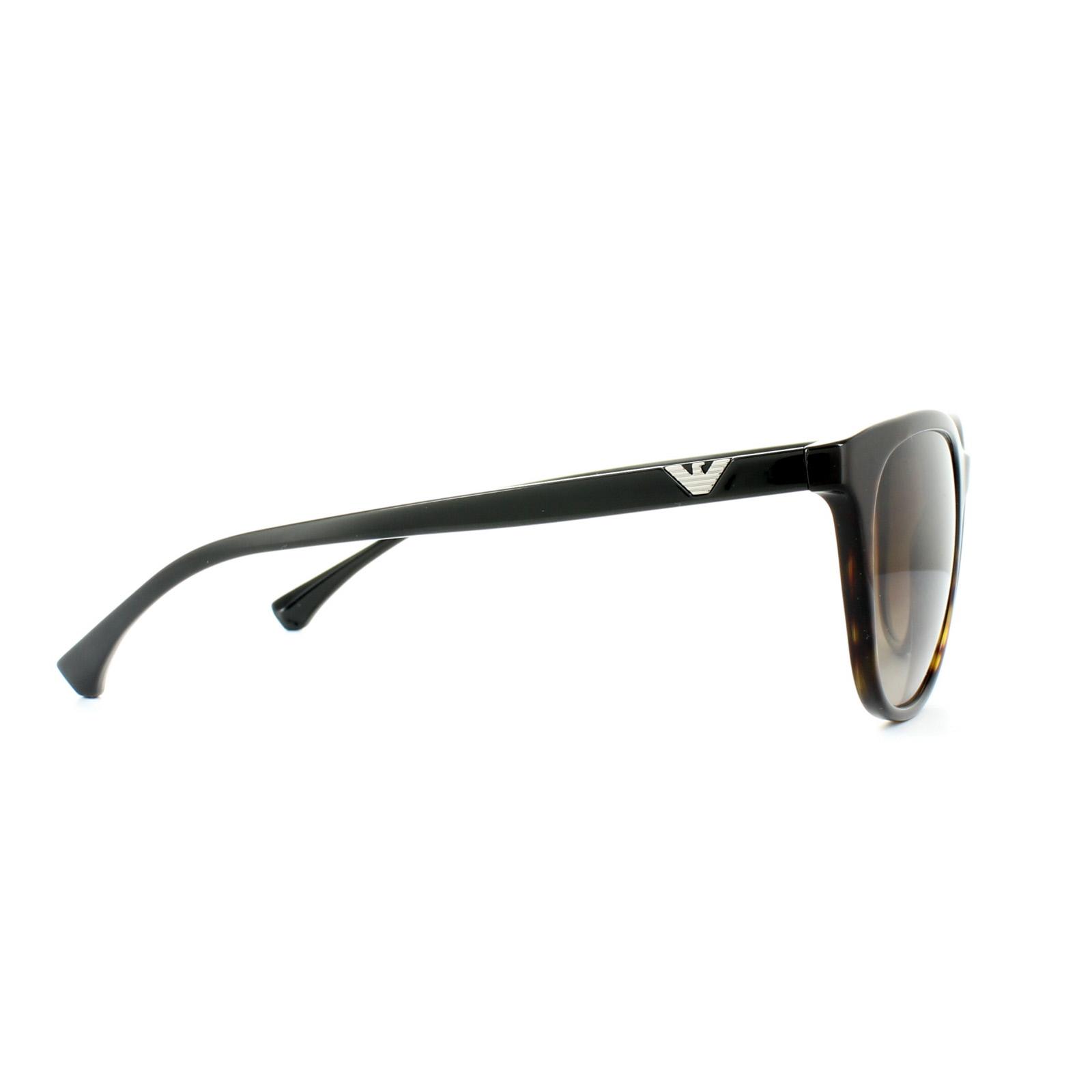 e13831bcd9b Sentinel Emporio Armani Sunglasses 4086 5026 13 Dark Havana Brown Gradient