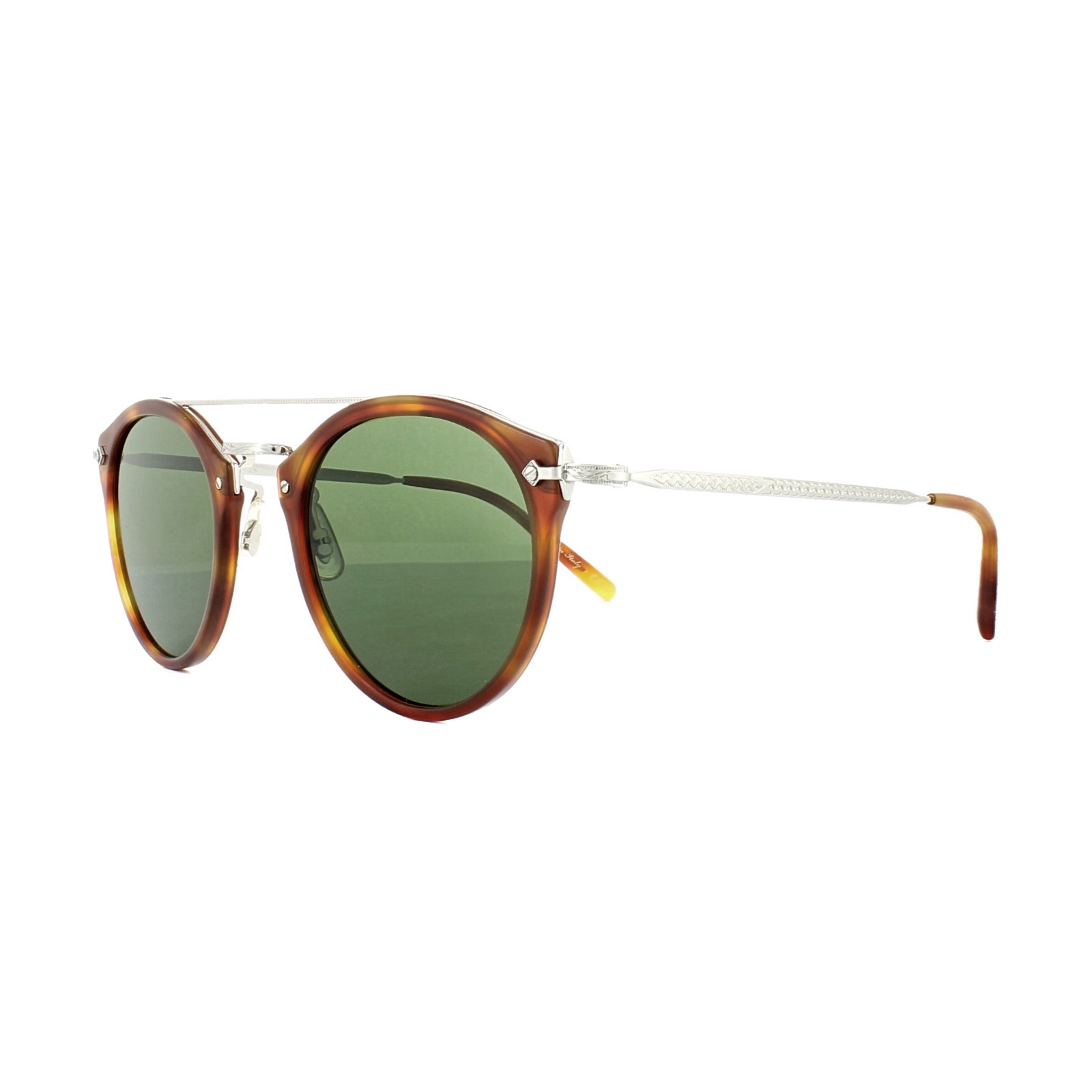 ab98b0df78 Sentinel Oliver Peoples Sunglasses Remick 5349 1483 71 Light Brown Havana  Green