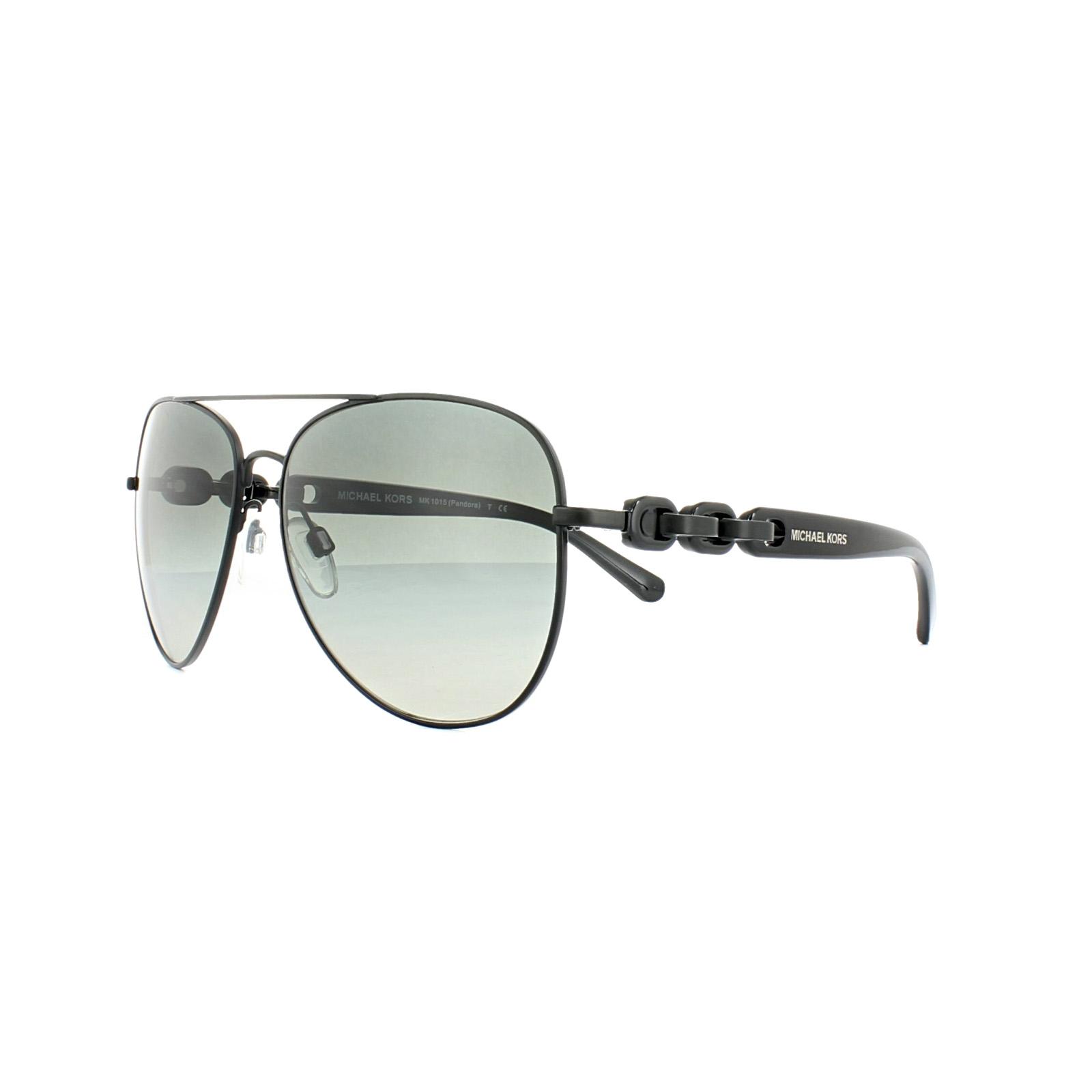 a114cc77af3 Sentinel Michael Kors Sunglasses Pandora 1015 1132 4L Pale Gold Blue Blue
