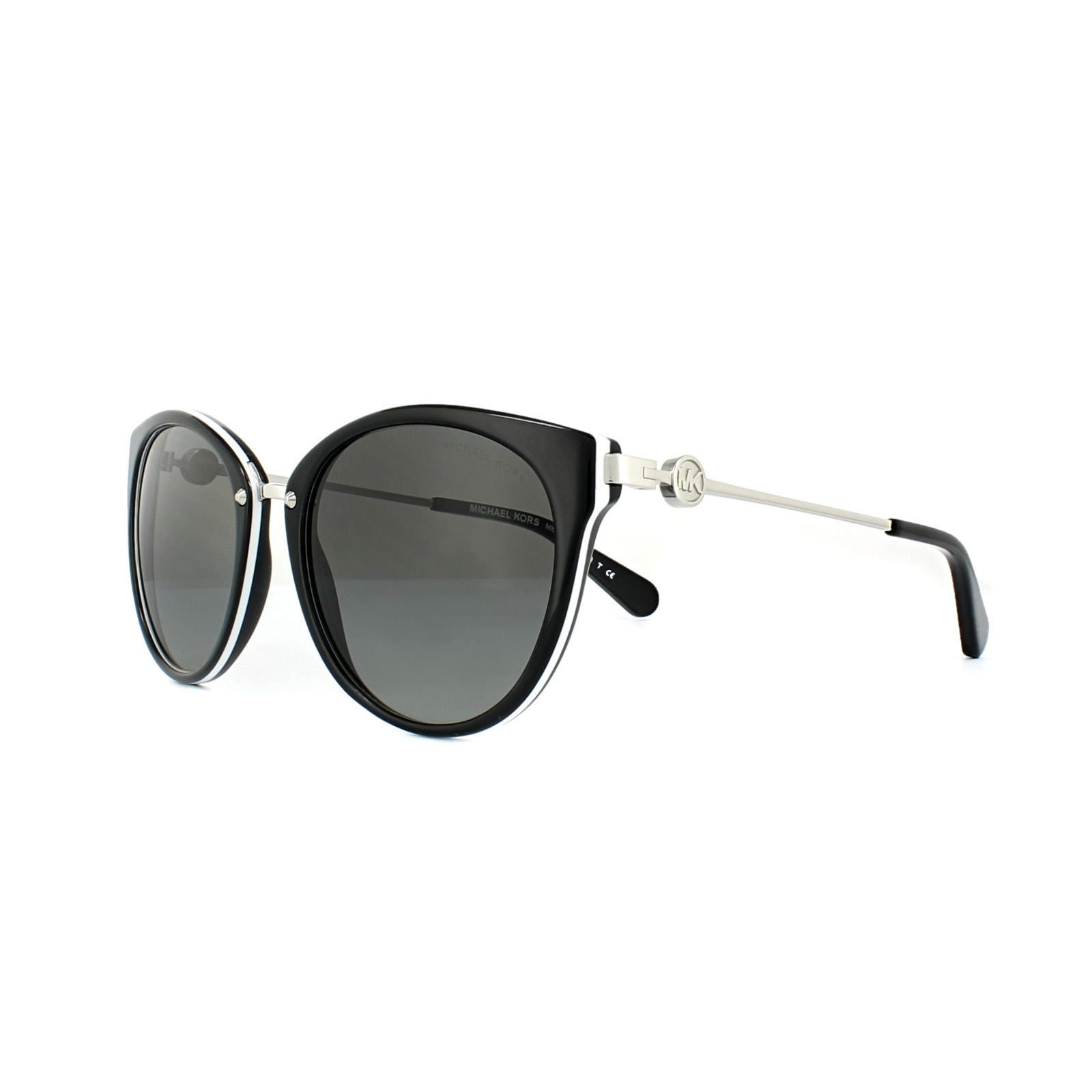 9b59b7991a616 Sentinel Michael Kors Sunglasses Abela III 6040 3129 11 Black White Grey  Gradient