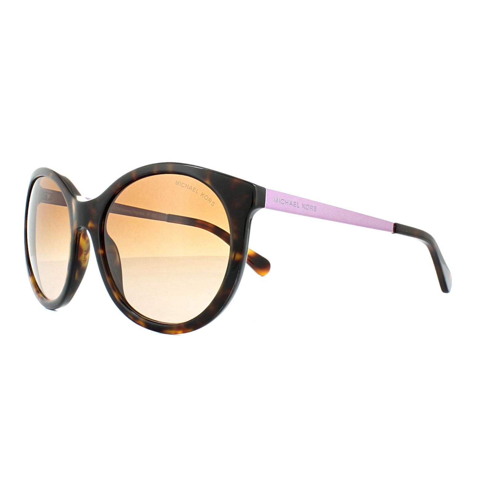 835d8f3b17 Michael Kors Sunglasses Island Tropics 2034 3200 13 Dark Havana ...