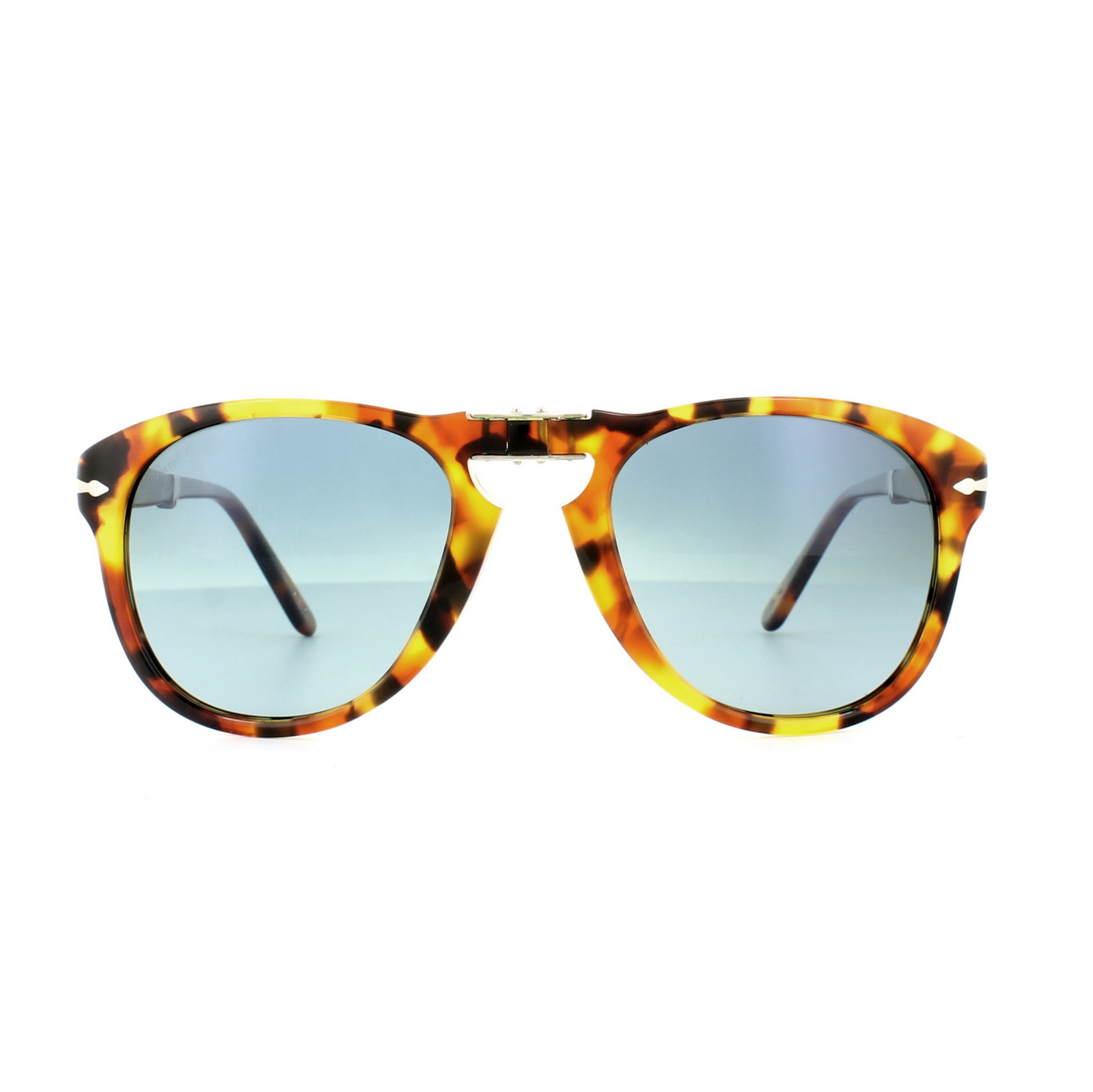 61d305bb25 Sentinel Persol Sunglasses 0714 1052S3 Madreterra Dark Blue Gradient  Polarized