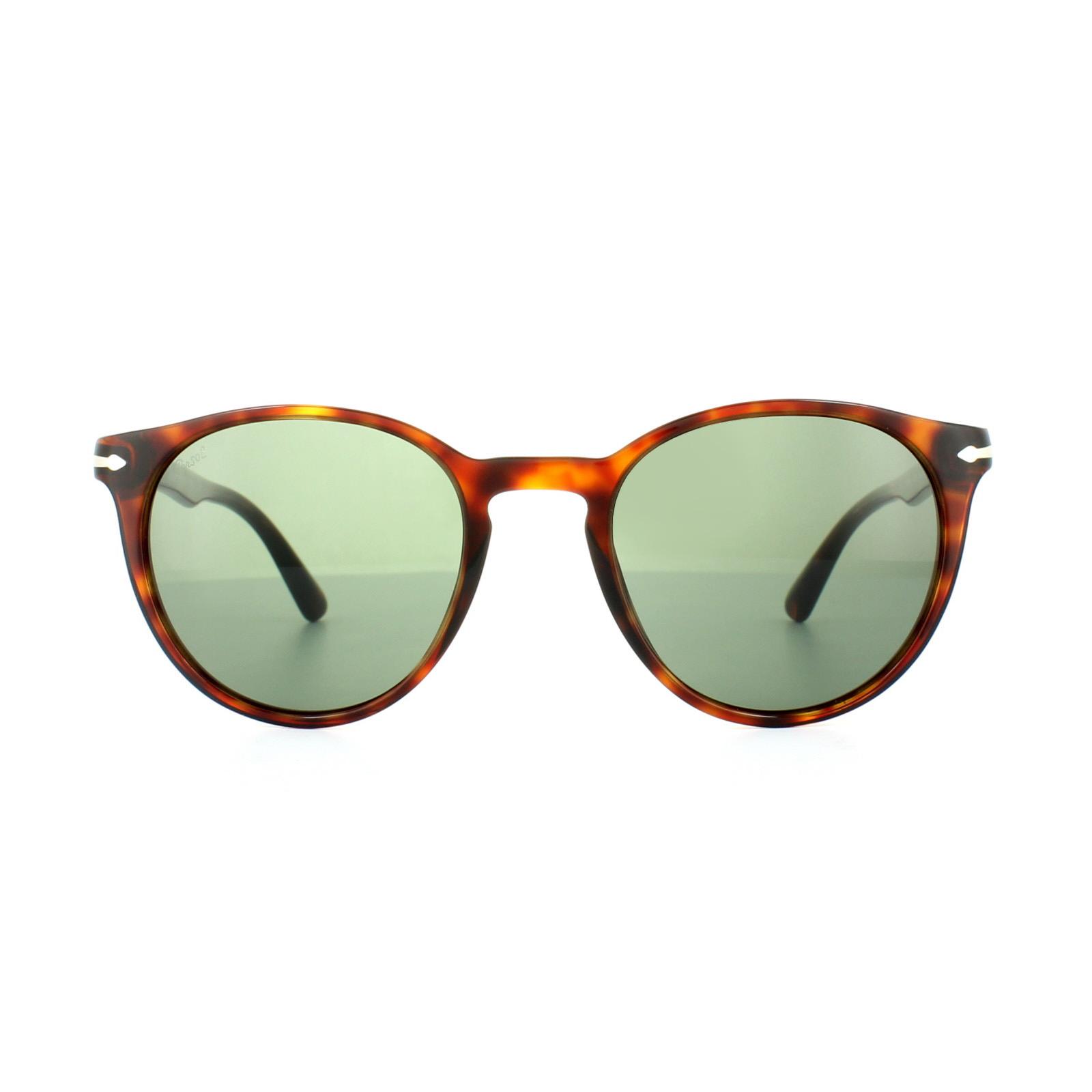 d7b199fd8b88b Sentinel Persol Sunglasses 3152 9015 31 Havana Grey Green