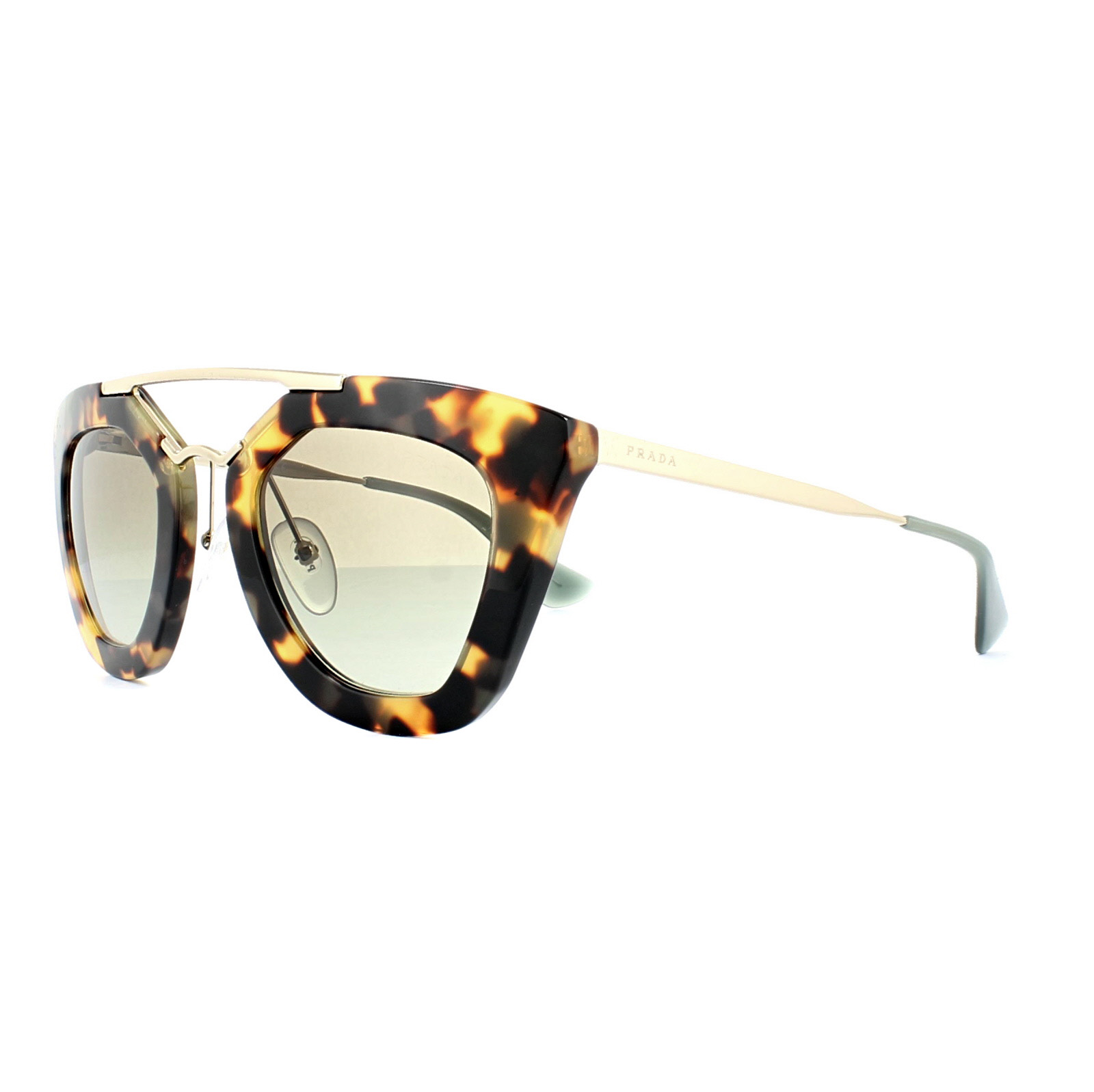 c81b514bf4c Sentinel Prada Sunglasses 09QS 7S04M1 Blonde Havana Green Gradient