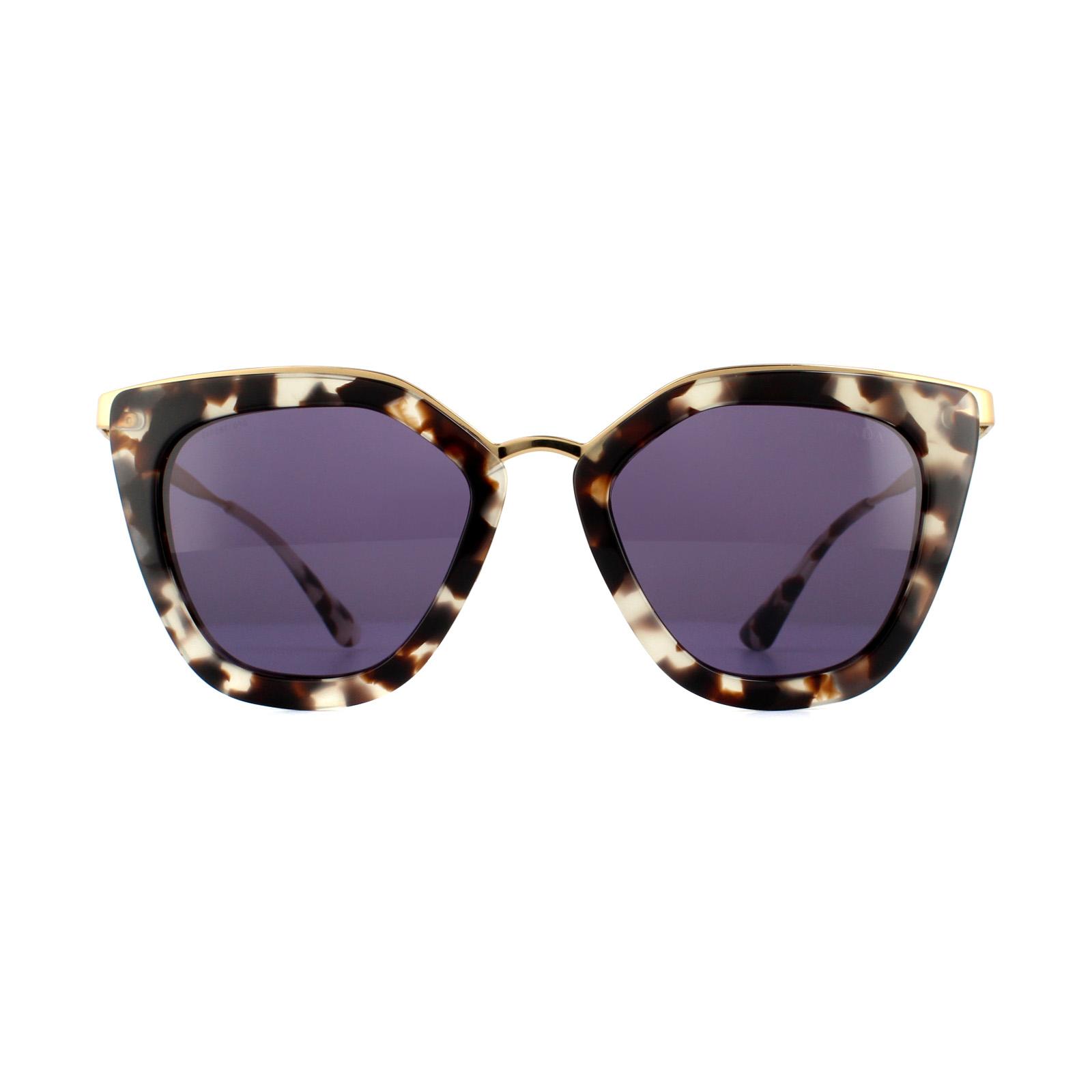 6093fcada749 Sentinel Prada Sunglasses Cinema Evolution 53SS UAO6O2 White Havana Violet