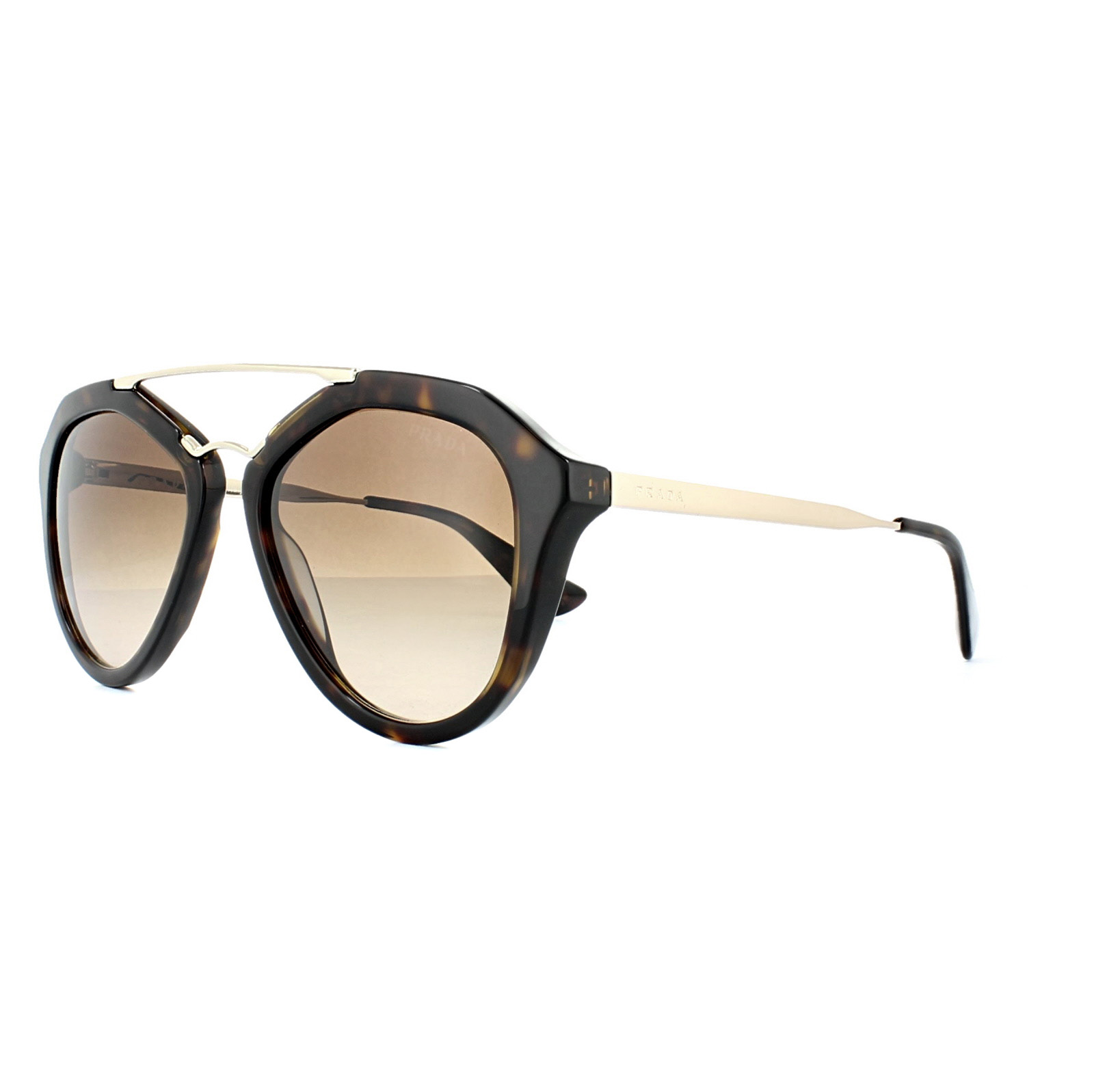 29f37aeaddd8 Sentinel Prada Sunglasses Cinema 12QS 2AU6S1 Havana Brown Gradient
