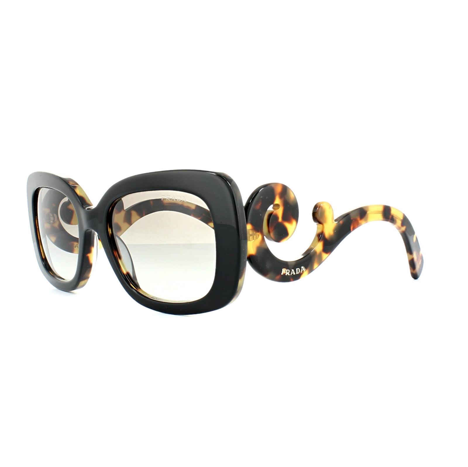 fdf08ee6b ... baroque sunglasses prada pr 4d7ee 78775; get sentinel prada sunglasses  27os nai0a7 black blonde havana grey gradient 5a180 10f55