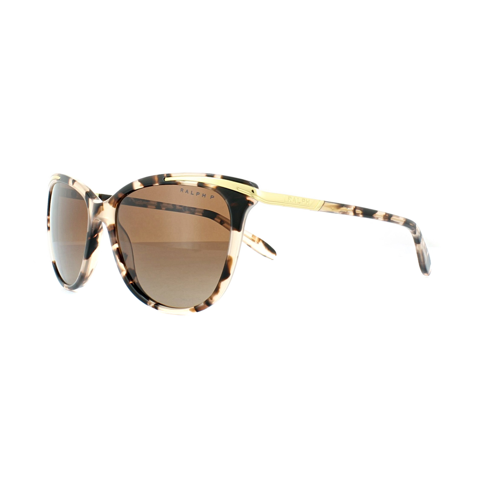 RALPH Ralph Damen Sonnenbrille » RA5203«, rosa, 1463T5 - rosa/braun