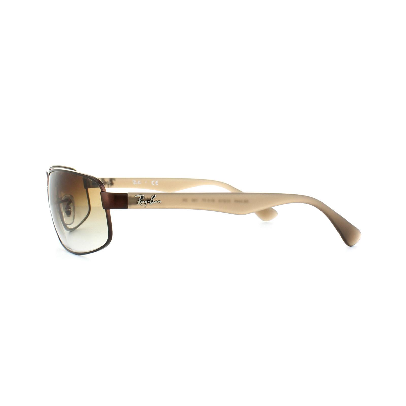 df1db60ac517e Ray-Ban Sunglasses 3445 012 13 Brown Brown Gradient 8053672743791   eBay
