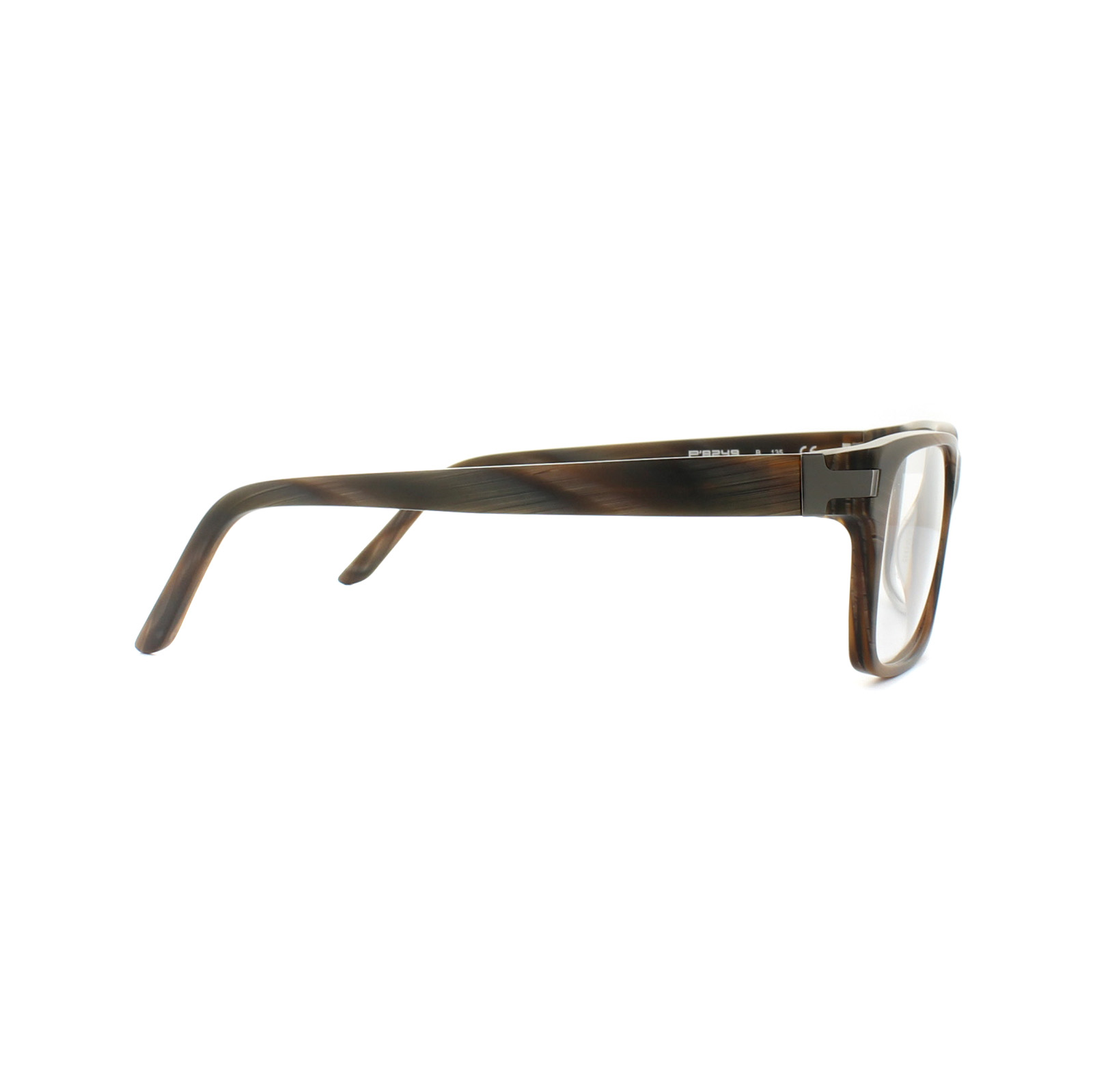 794ebdc269c9 Sentinel Porsche Design Glasses Frames P8249 B Chocolate Structured