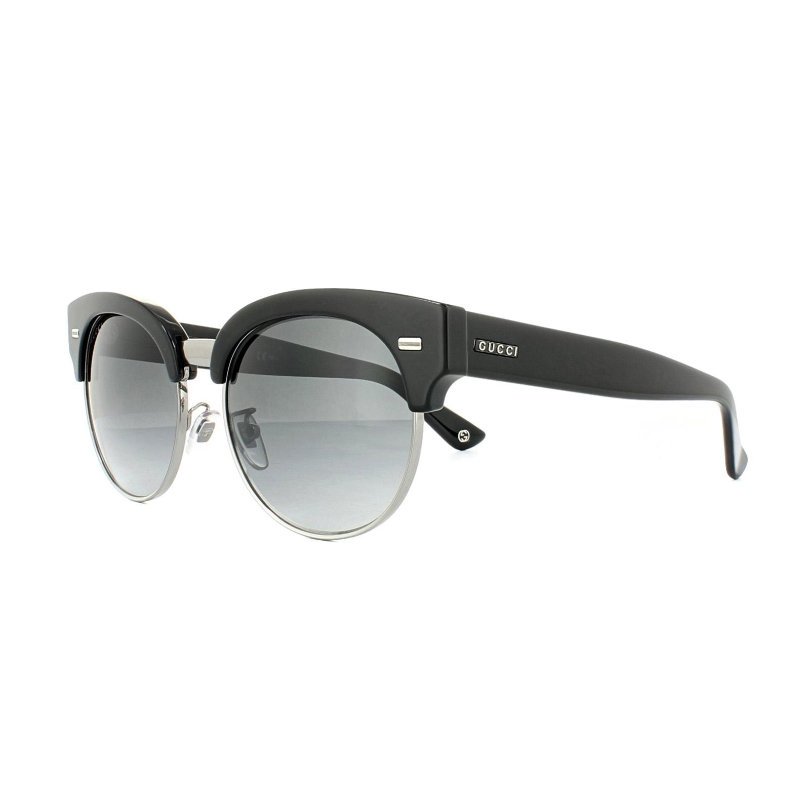 Gucci Gafas de sol 4278 U32 9o Negro Rutenio gris gris oscuro ...