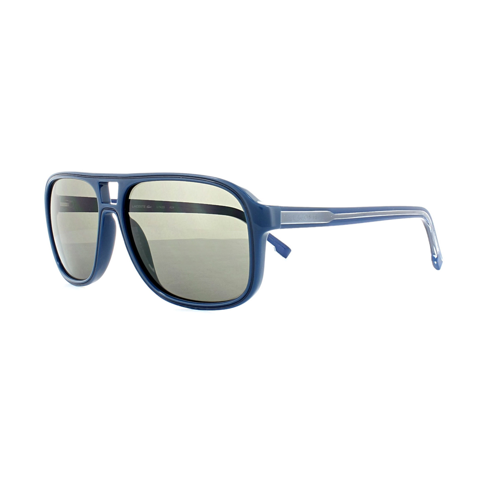 f22a2ff12 Details about Lacoste Sunglasses L742S 424 Blue Grey