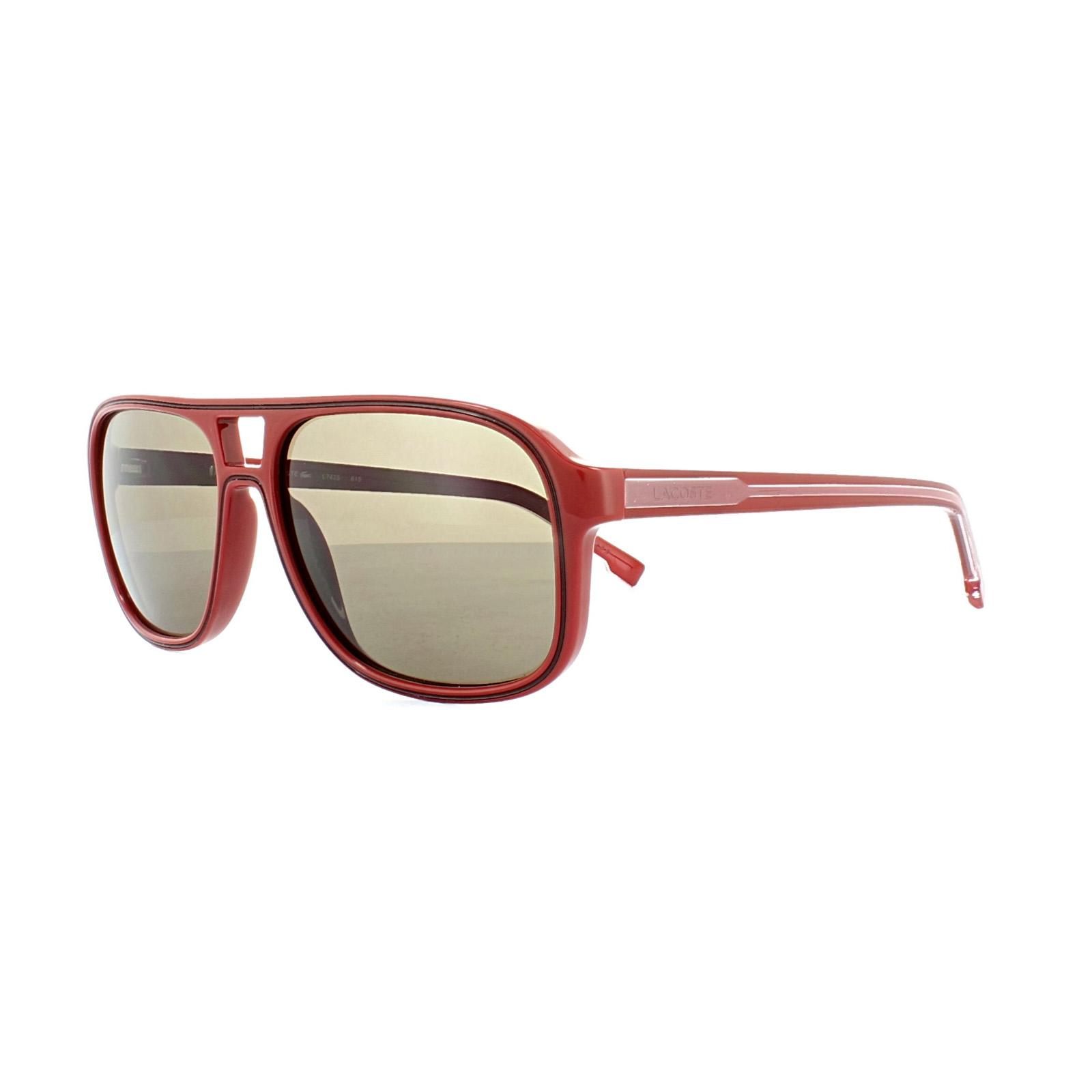 762ea21d45d5 Lacoste Sunglasses L742S 615 Red Red Men s Accessories