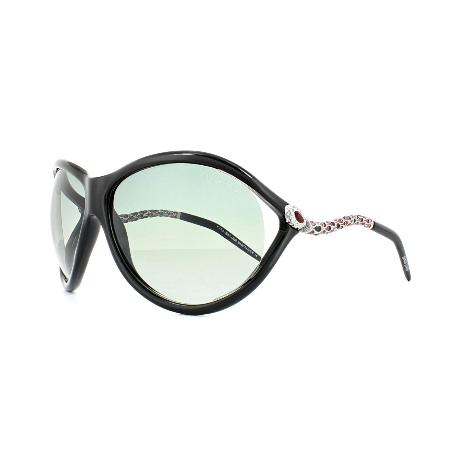 9c815e82b8789 Sentinel Roberto Cavalli Sunglasses Caph 853S 01B Shiny Black Grey Gradient