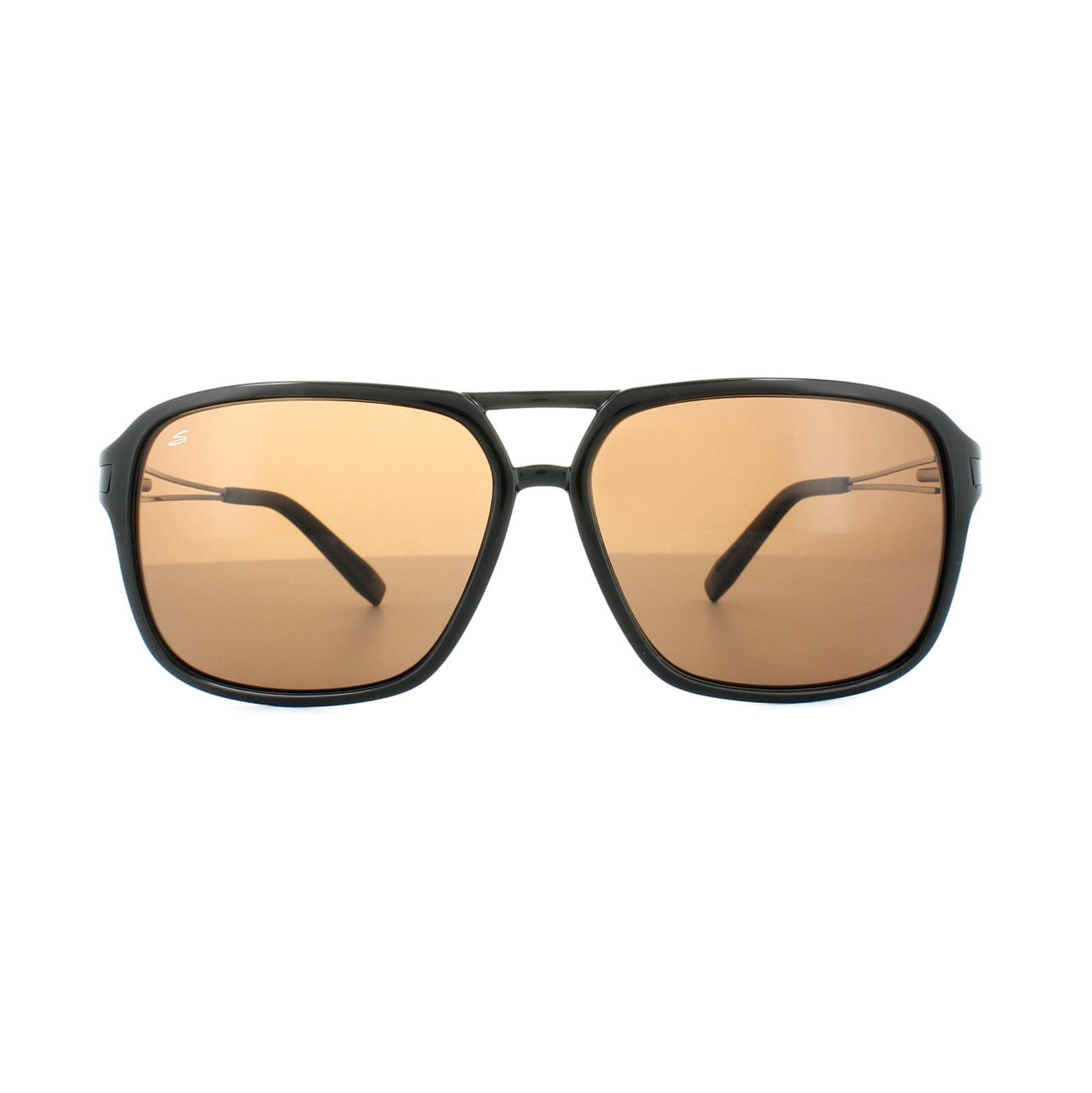 afc5ea9587 Sentinel Serengeti Sunglasses Venezia 8192 Shiny Black Drivers Brown  Polarized
