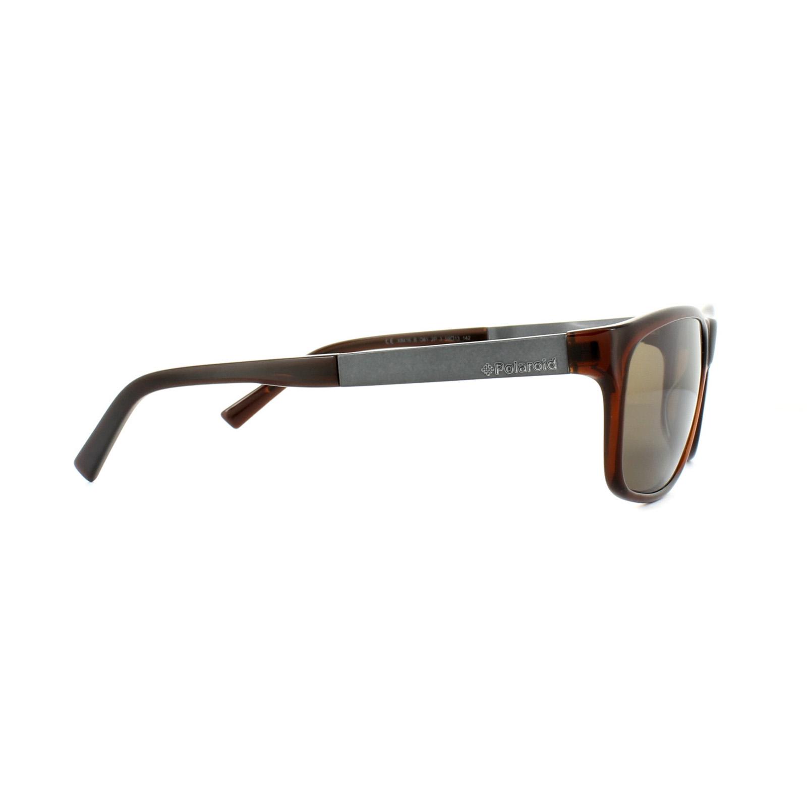 Polaroid Sonnenbrille X8416 081 2P Kristall Braun Braun Polarisiert PUQhzN9f4E