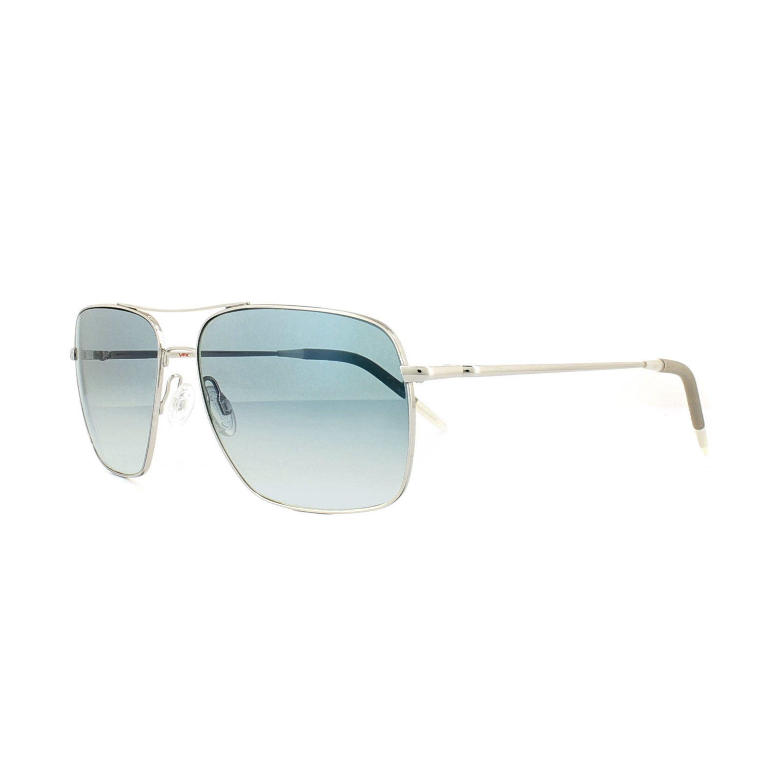 83330a19f40 Sentinel Oliver Peoples Sunglasses Clifton 1150 5036/3F Silver Sapphire VFX  Photochromic