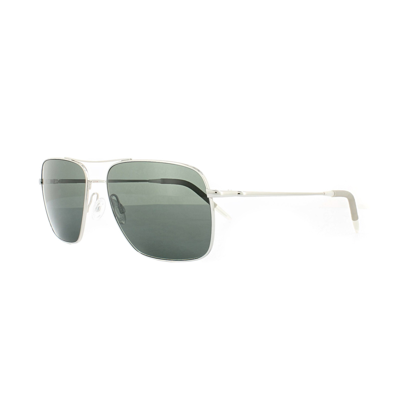 feeed2b33b8 Sentinel Oliver Peoples Sunglasses Clifton 1150 5036/P2 Silver Midnight Exp  VFX Polarized