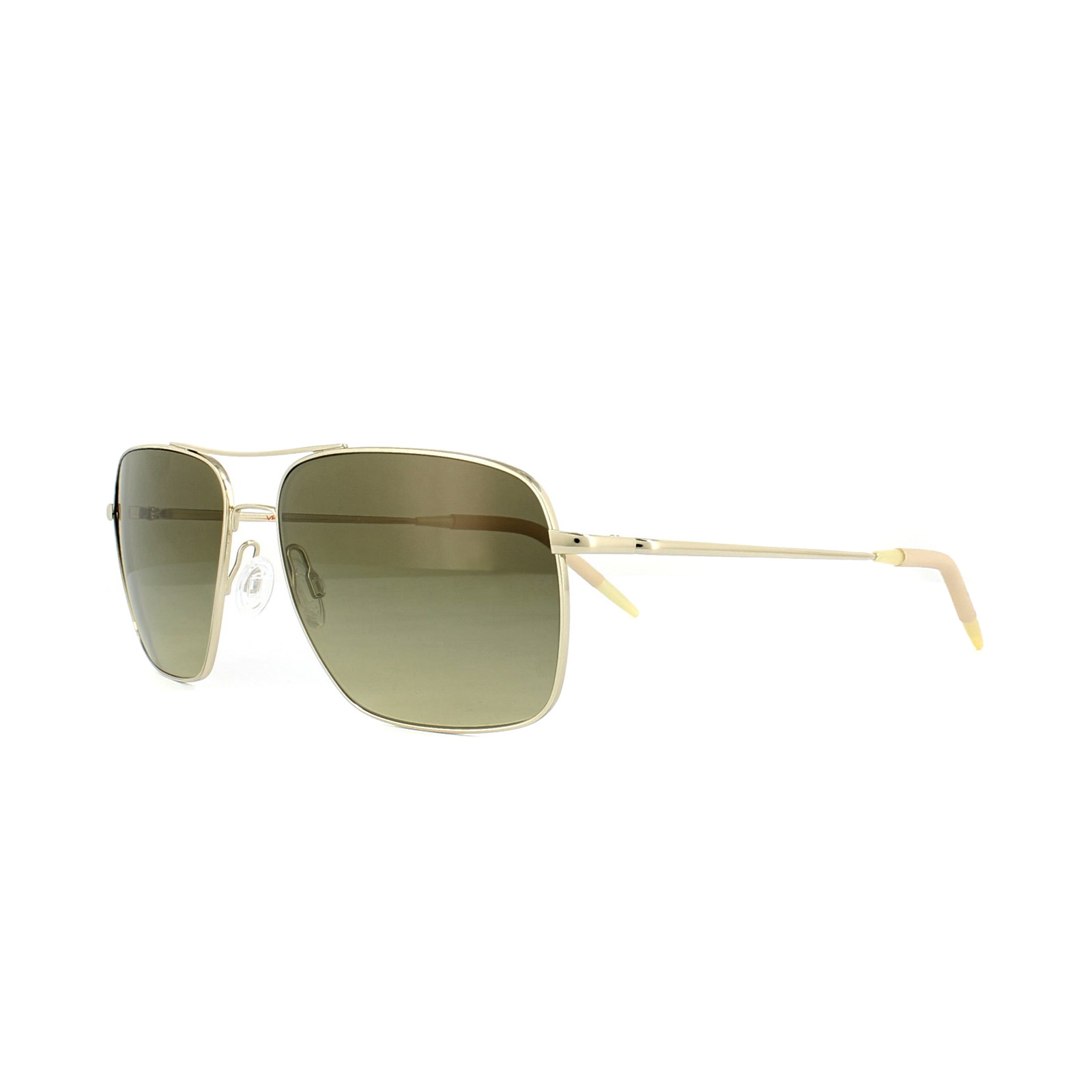 d2f1f525676 Sentinel Oliver Peoples Sunglasses Clifton 1150 5035 85 Gold Chrome Olive  Photochromic