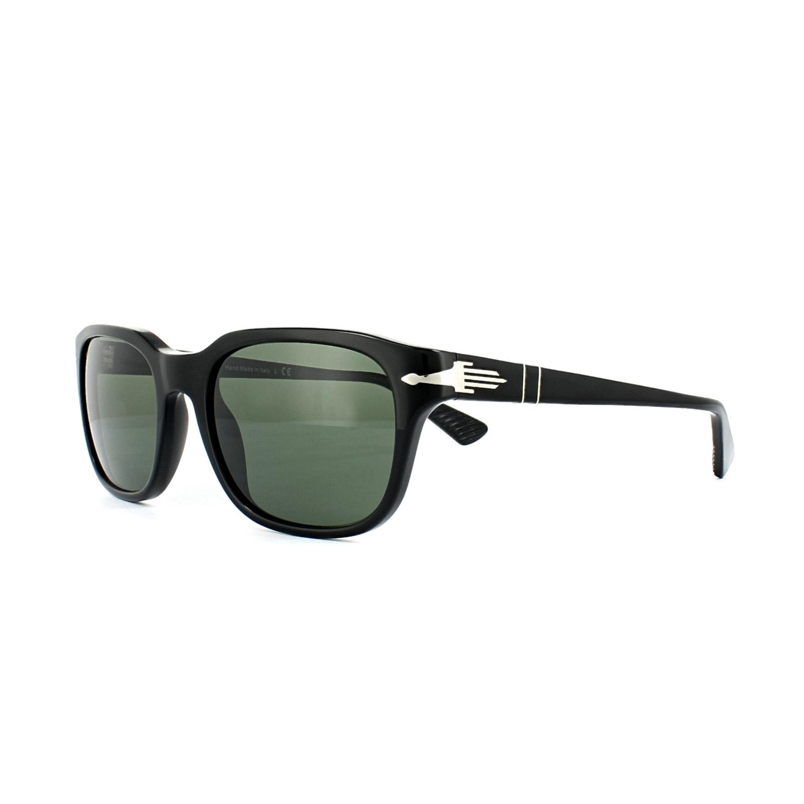 deac31ce95e Persol Sunglasses 3112 95 31 Black Grey Green 8053672410112