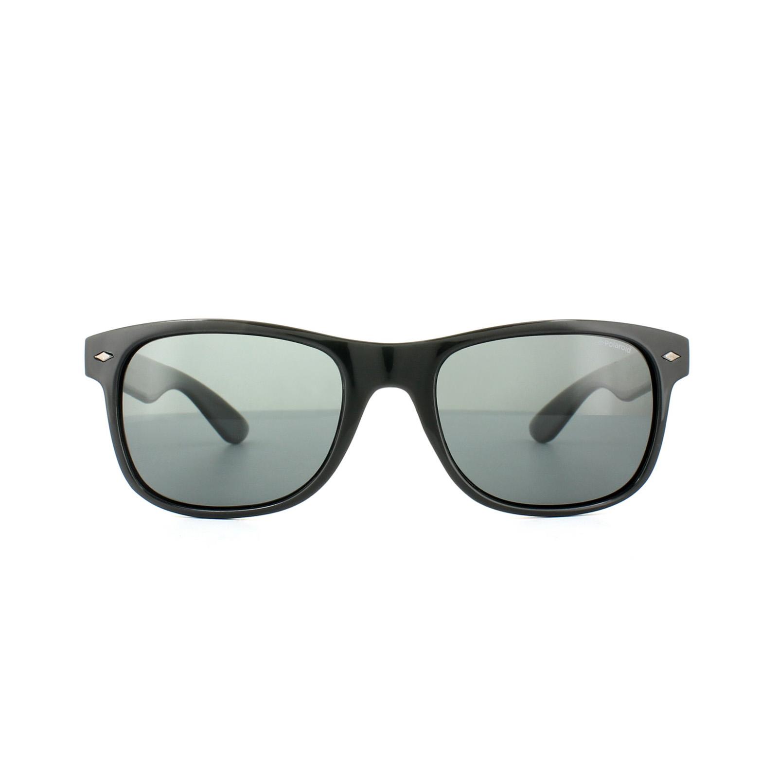 6338d86a71 Sentinel Polaroid Sunglasses PLD 1015/S D28 Y2 Shiny Black Grey Polarized