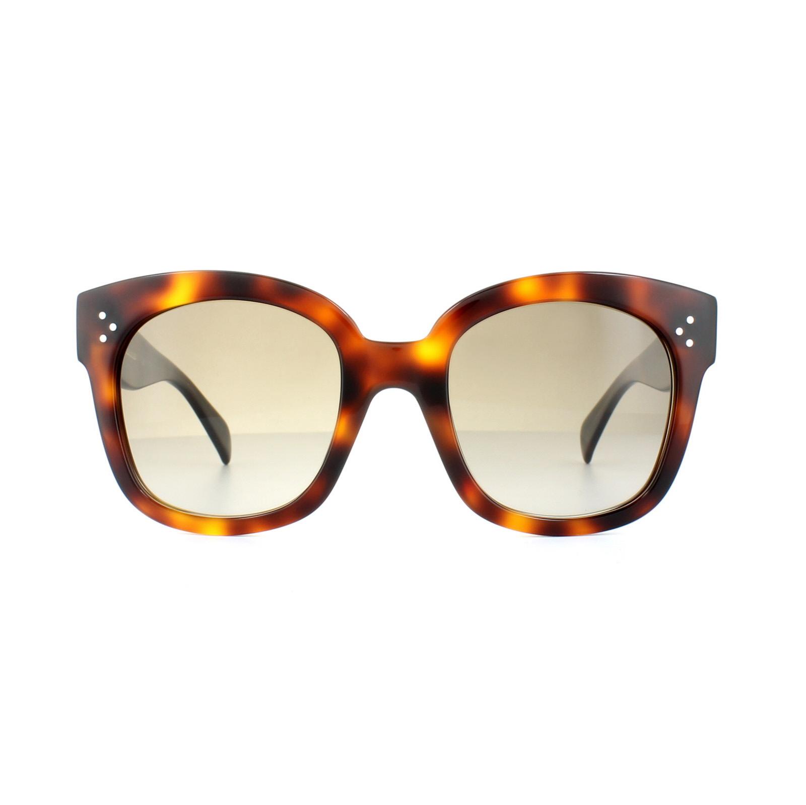 10b7f9da406 Sentinel Celine Sunglasses 41805 S New Audrey 05L HA Havana Brown Gradient