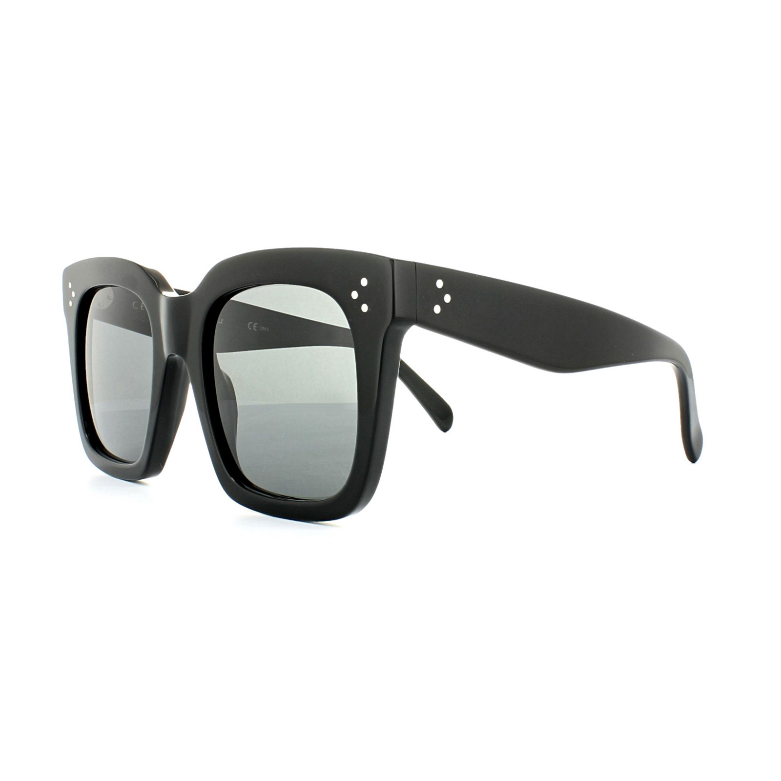 2034d59ab4ea Celine Sunglasses 41076 S Tilda 807 BN Black Dark Grey Thumbnail 1 ...
