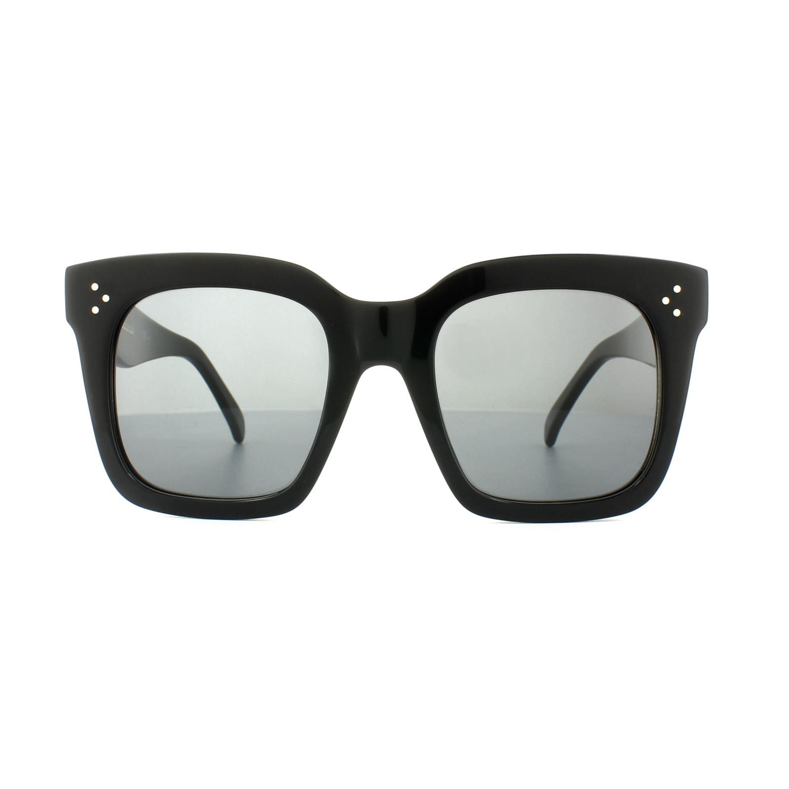 48c060862a04 ... Celine Sunglasses 41076/S Tilda 807 BN Black Dark Grey Thumbnail 2 ...