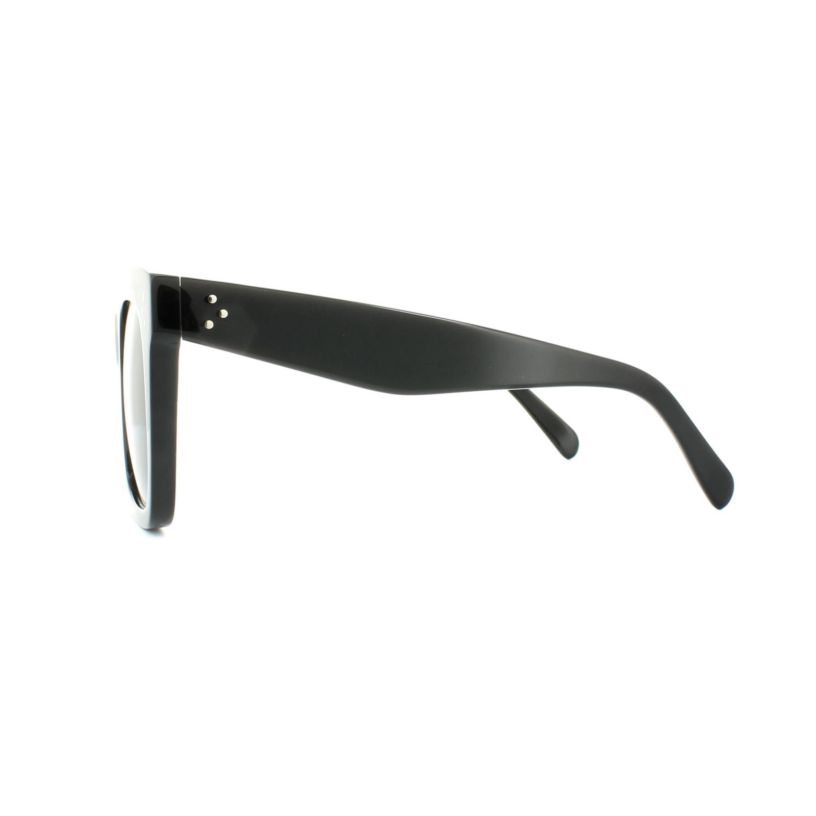 4448c8915625 ... Celine Sunglasses 41076/S Tilda 807 BN Black Dark Grey Thumbnail 3 ...