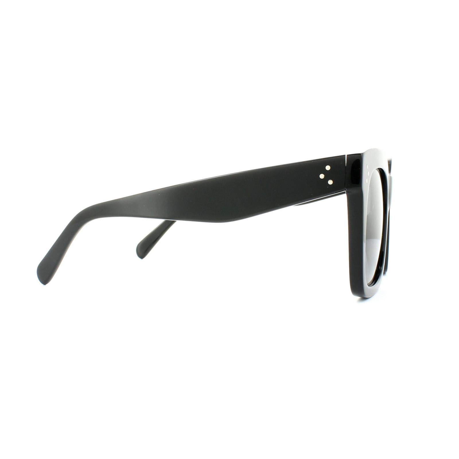 d1c031c6aad2 ... Celine Sunglasses 41076/S Tilda 807 BN Black Dark Grey Thumbnail 4 ...