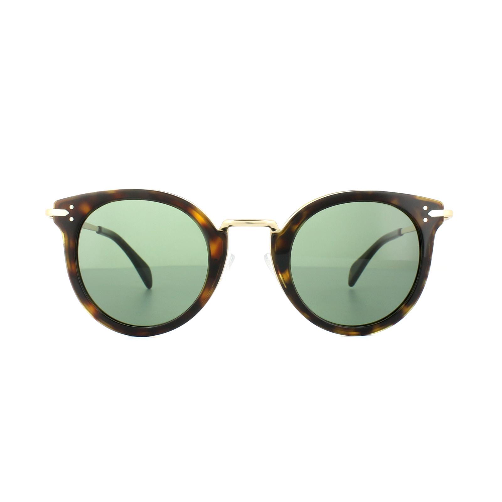 b4464a304a39 Sentinel Celine Sunglasses 41373 S Lea ANT 85 Havana Gold Grey Green