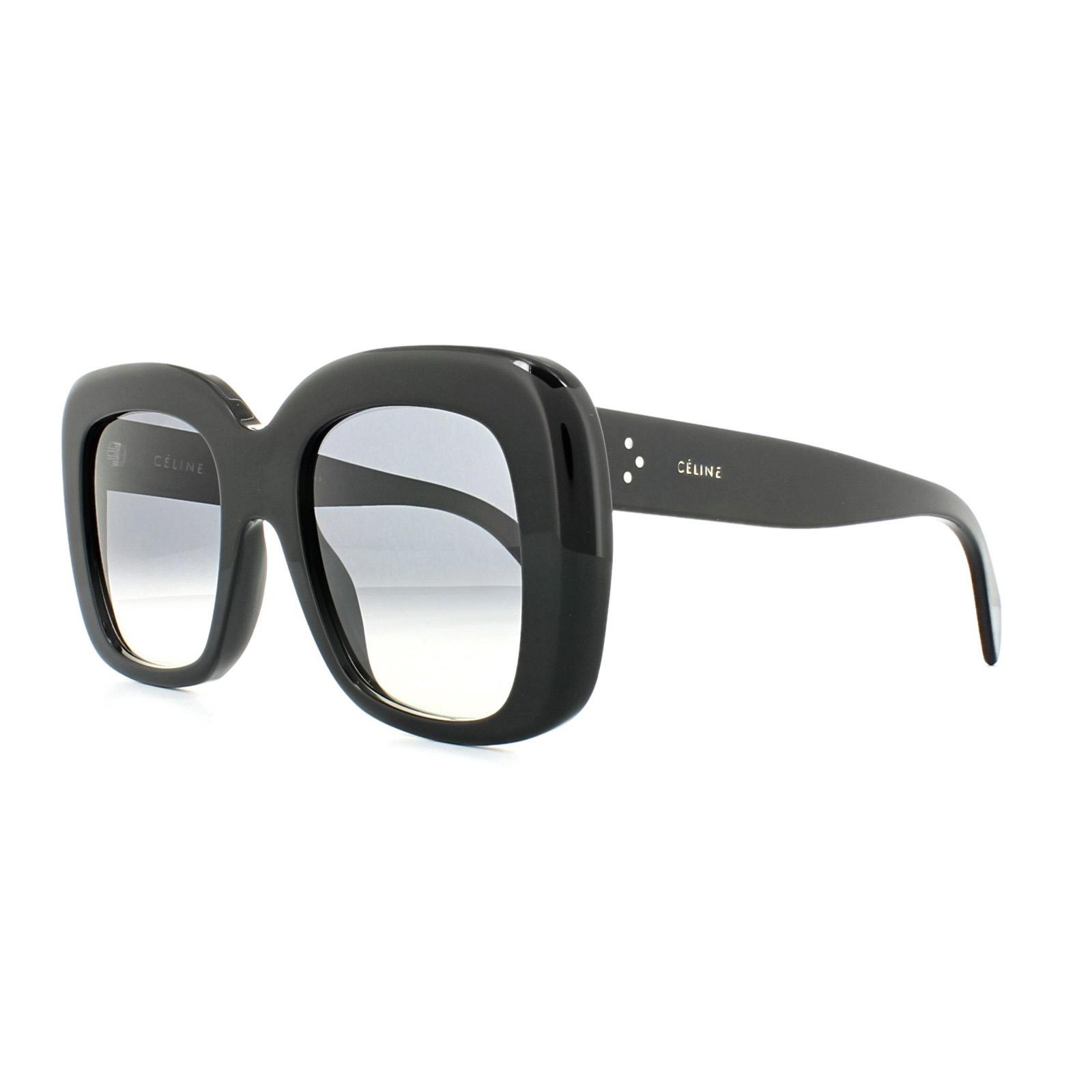 c02b7266236b Sentinel Celine Sunglasses 41433/S Stella 807 W2 Black Dark Grey Gradient