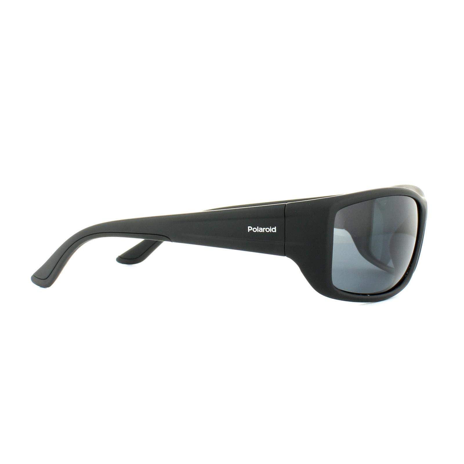 Polaroid Herren Sonnenbrille » PLD 7011/S«, schwarz, 807/M9 - schwarz/grau