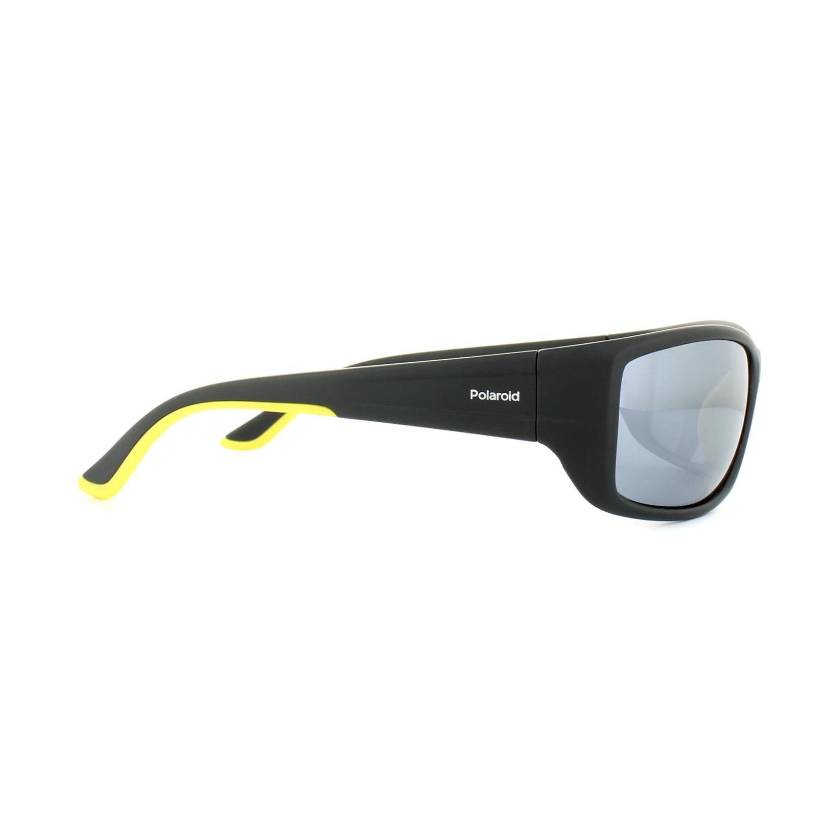 Polaroid Herren Sonnenbrille » PLD 7011/S«, schwarz, 71C/EX - schwarz/ silber