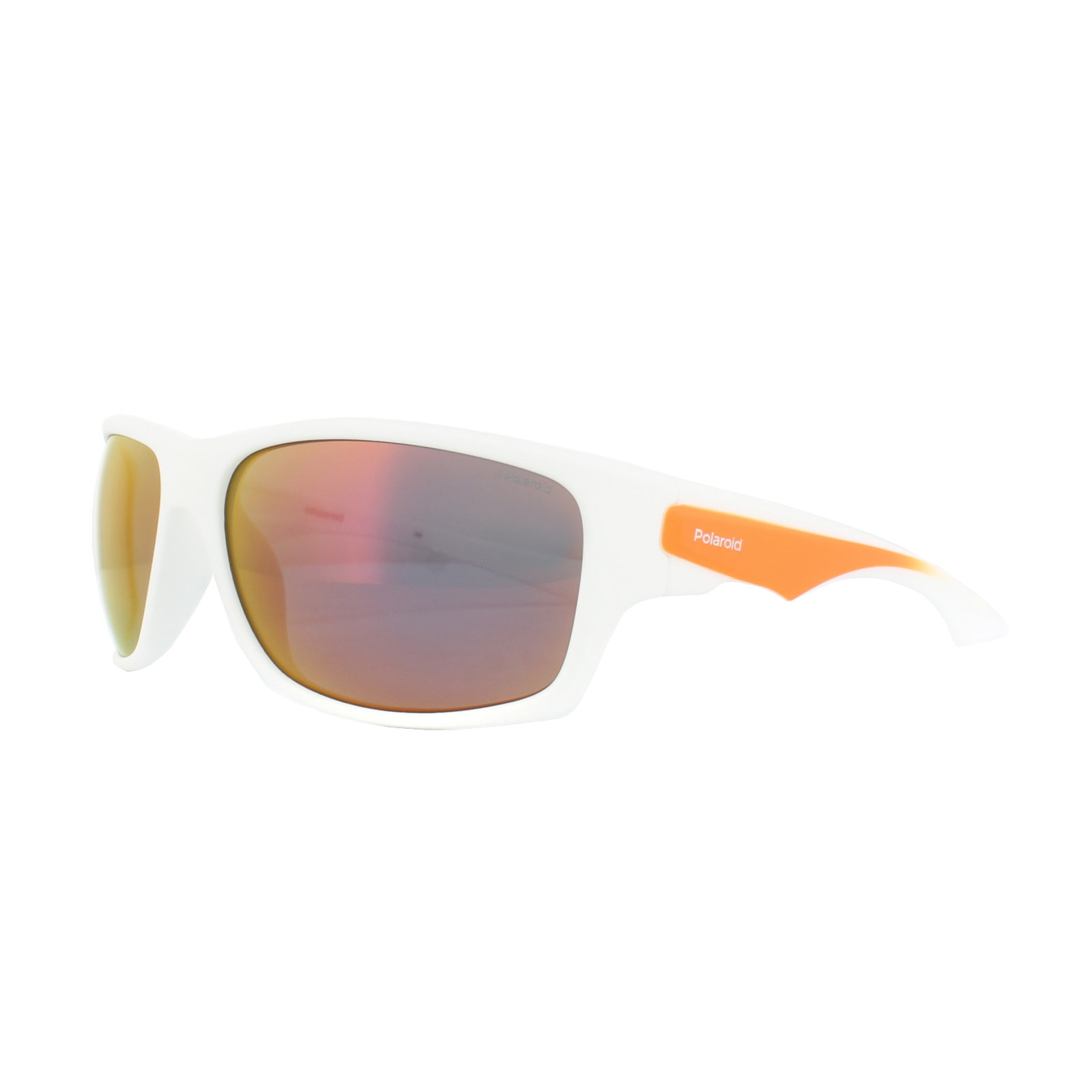 Polaroid Herren Sonnenbrille » PLD 7010/S«, weiß, IXN/OZ - weiß/rot
