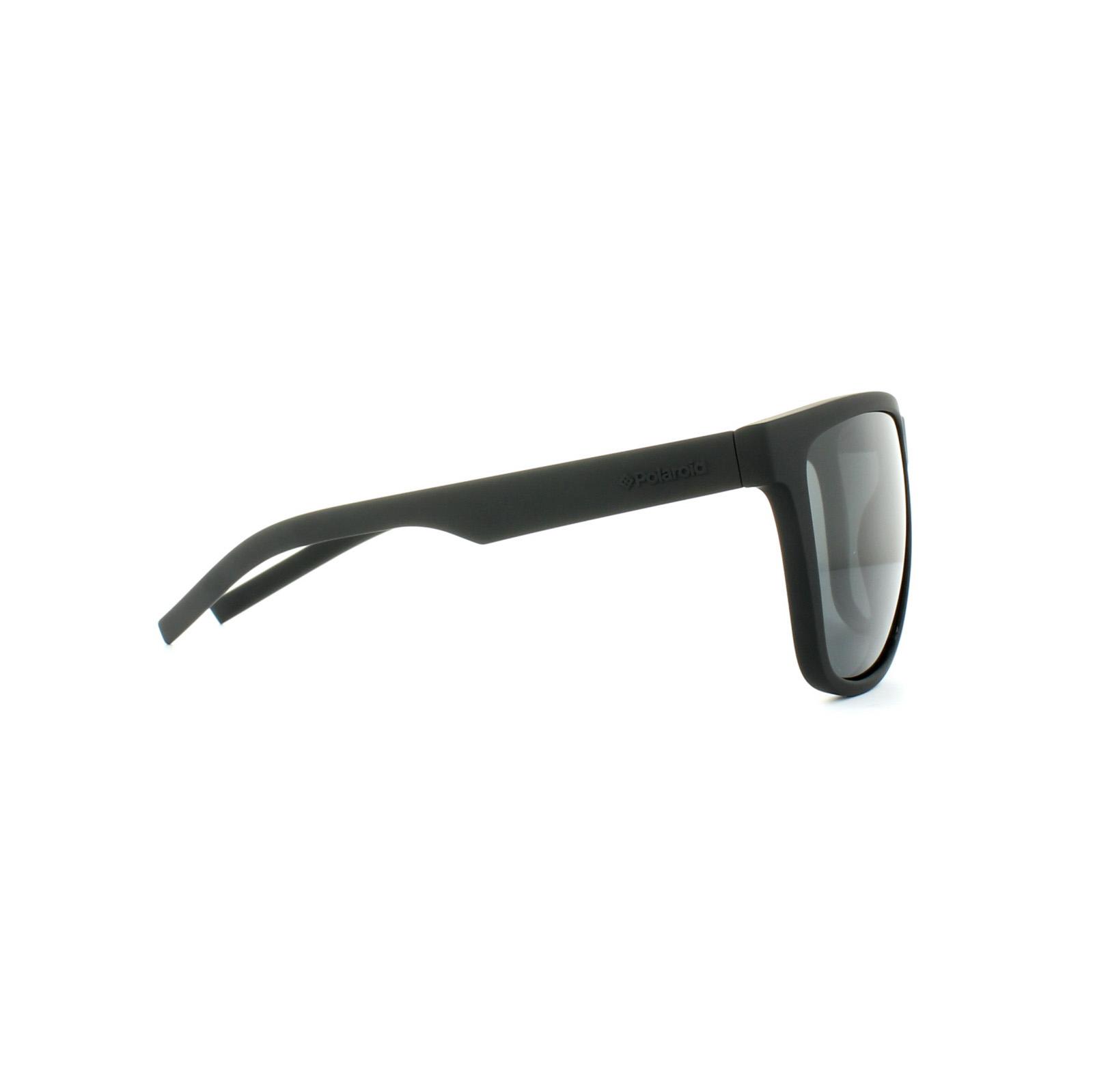 b1e6a3565f Sentinel Polaroid Sport Sunglasses PLD 6014 S YYV Y2 Rubber Black Grey  Polarized