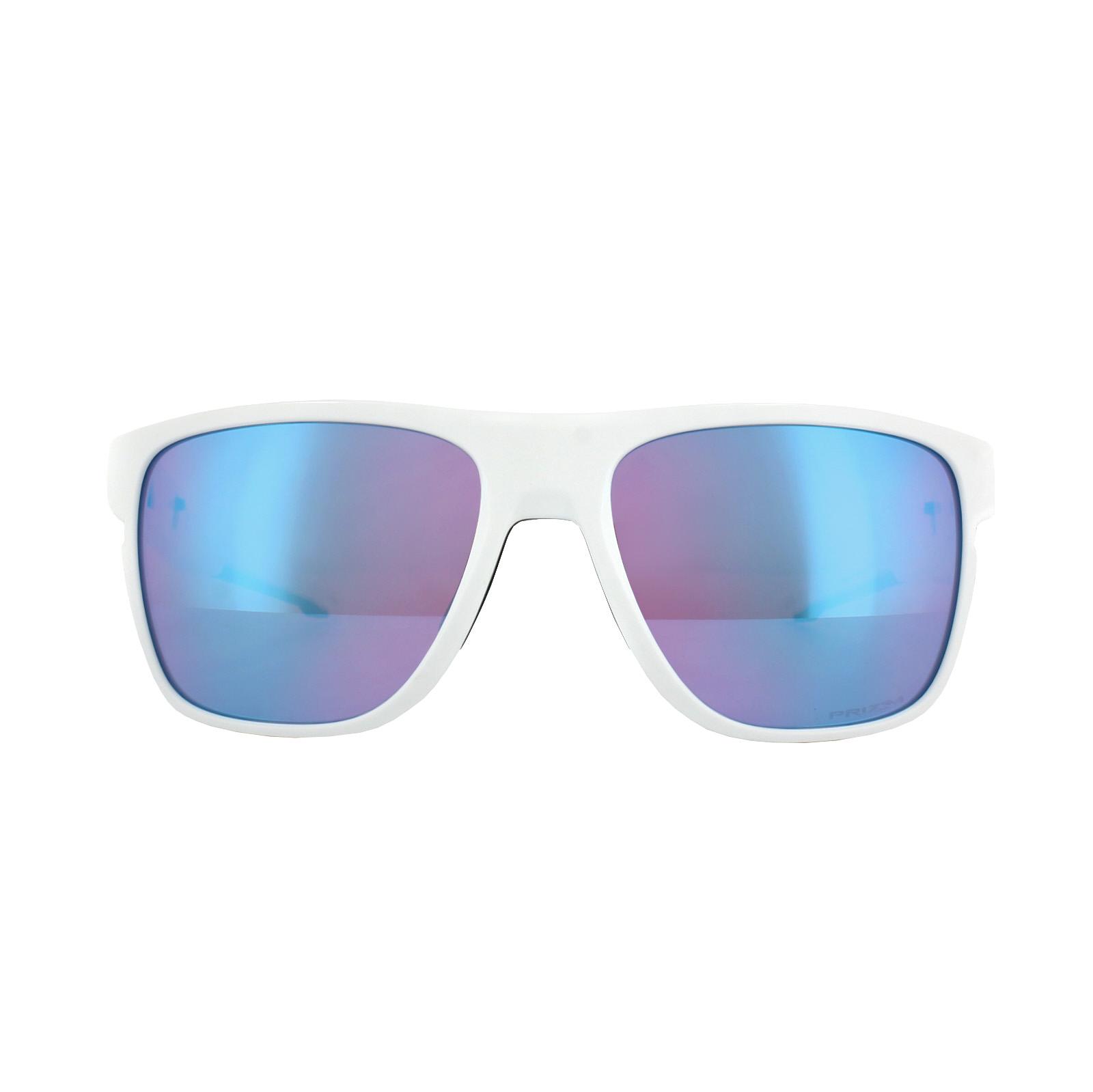 a53ab4821b Sentinel Oakley Sunglasses Crossrange XL OO9360-08 Pol White Prizm Snow  Sapphire Iridium