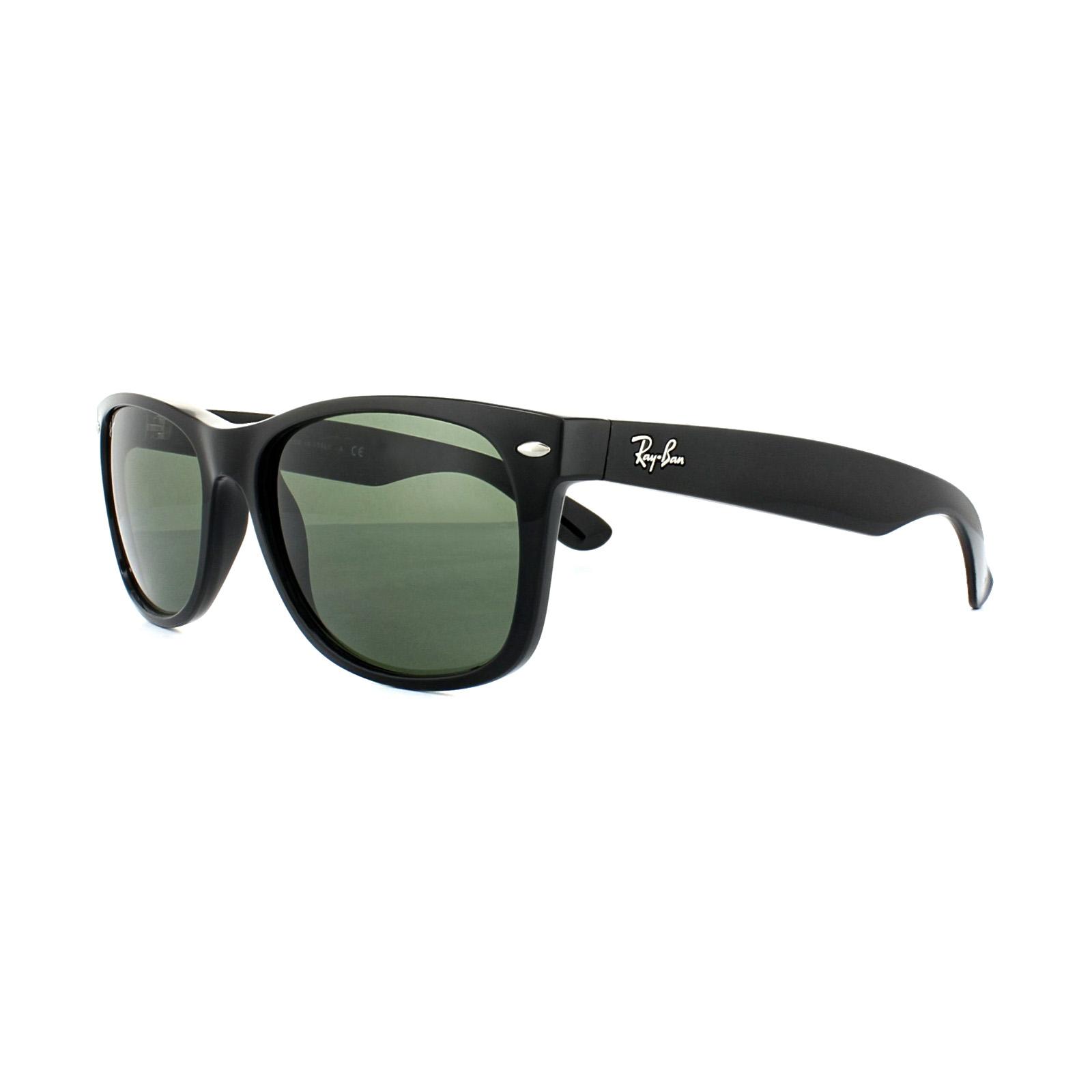 aa78559404 CENTINELA Gafas de sol de Ray-Ban New Wayfarer 2132 901 lustre negro G-15