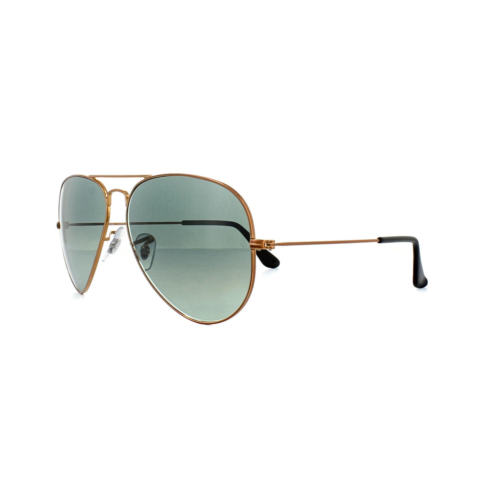d6dd790656c08 Sentinel Ray-Ban Sunglasses Aviator 3025 197 71 Bronze Copper Grey Gradient  Medium 58mm