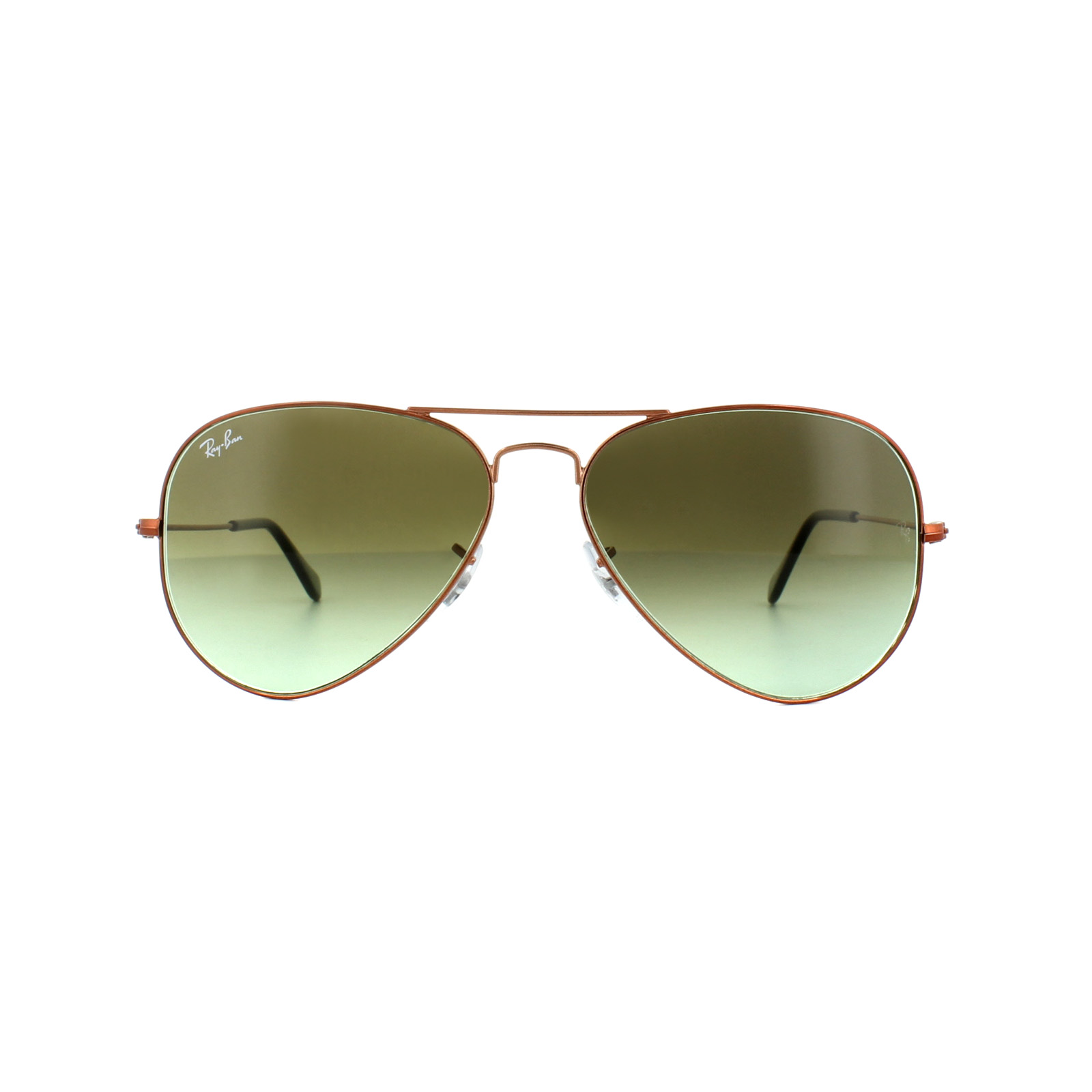 151acdd2e86 Sentinel Ray-Ban Sunglasses Aviator 3025 9002A6 Bronze Copper Green Gradient  Medium 58mm
