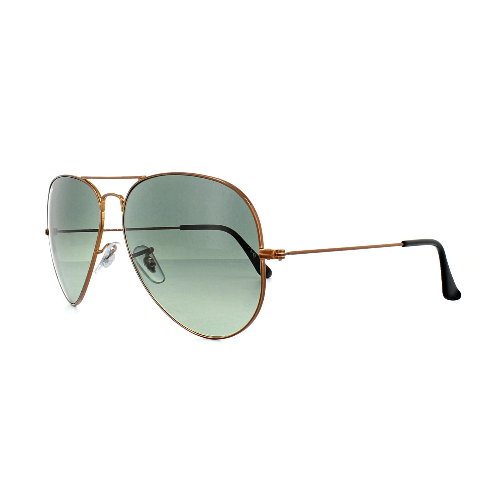 f63f56fbee9 Sentinel Ray-Ban Sunglasses Large Aviator 3026 197 71 Bronze Copper Grey  Gradient. Sentinel Thumbnail 2
